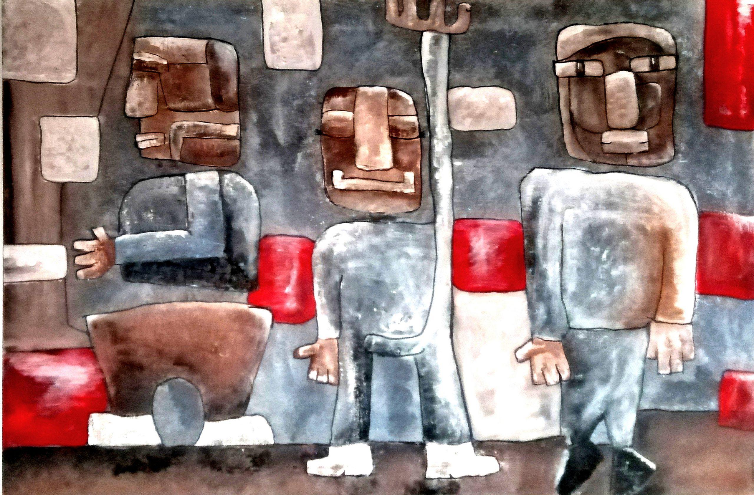 Kunst: 3 vrienden van kunstenaar Carla Broeckx