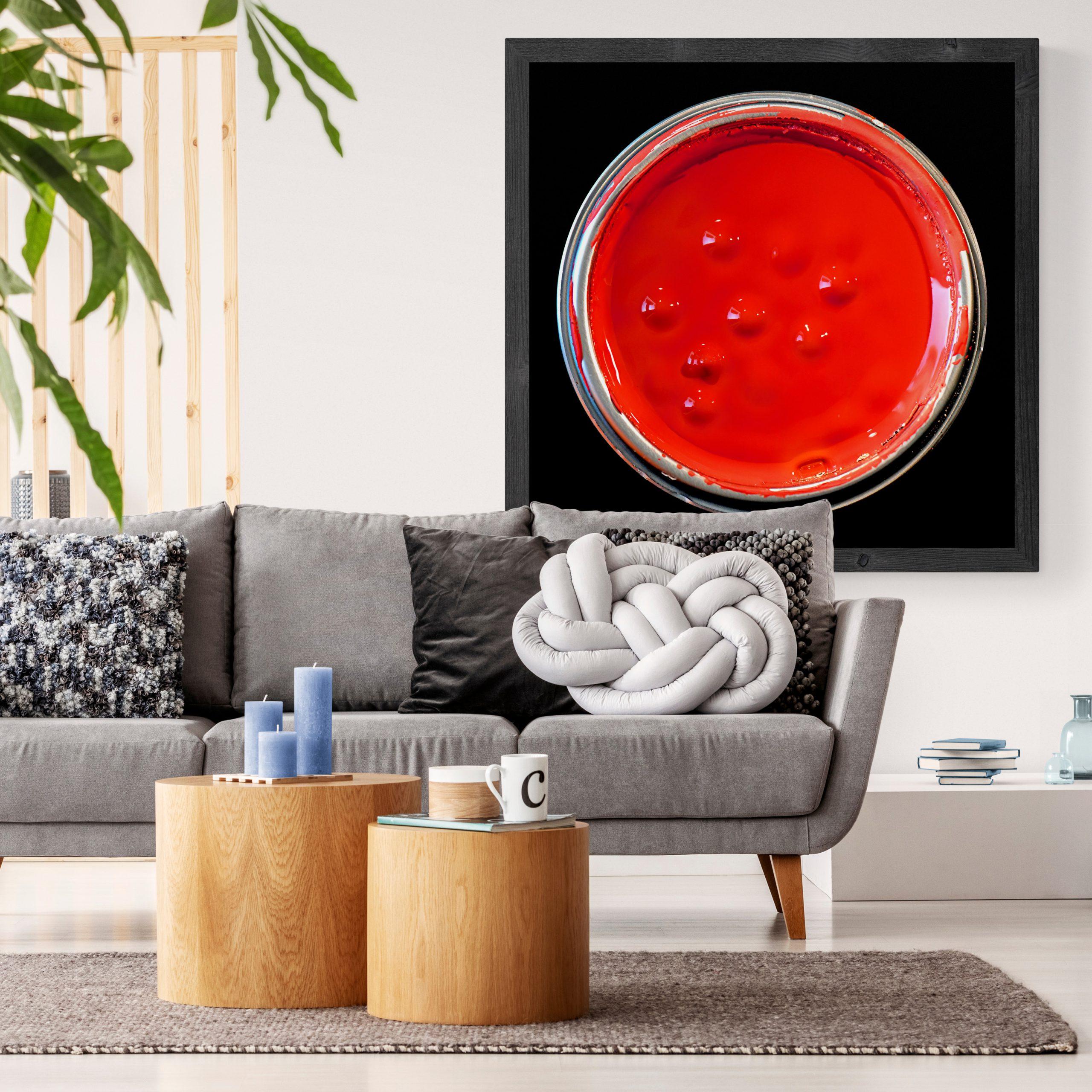 Kunst: RED PAINT van kunstenaar Anouk van Tetering (Anoukart)