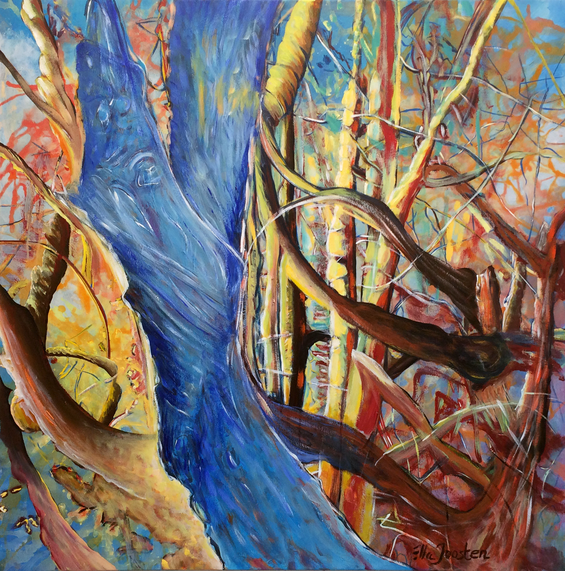 Kunst: Reflection 14 van kunstenaar Ella Joosten