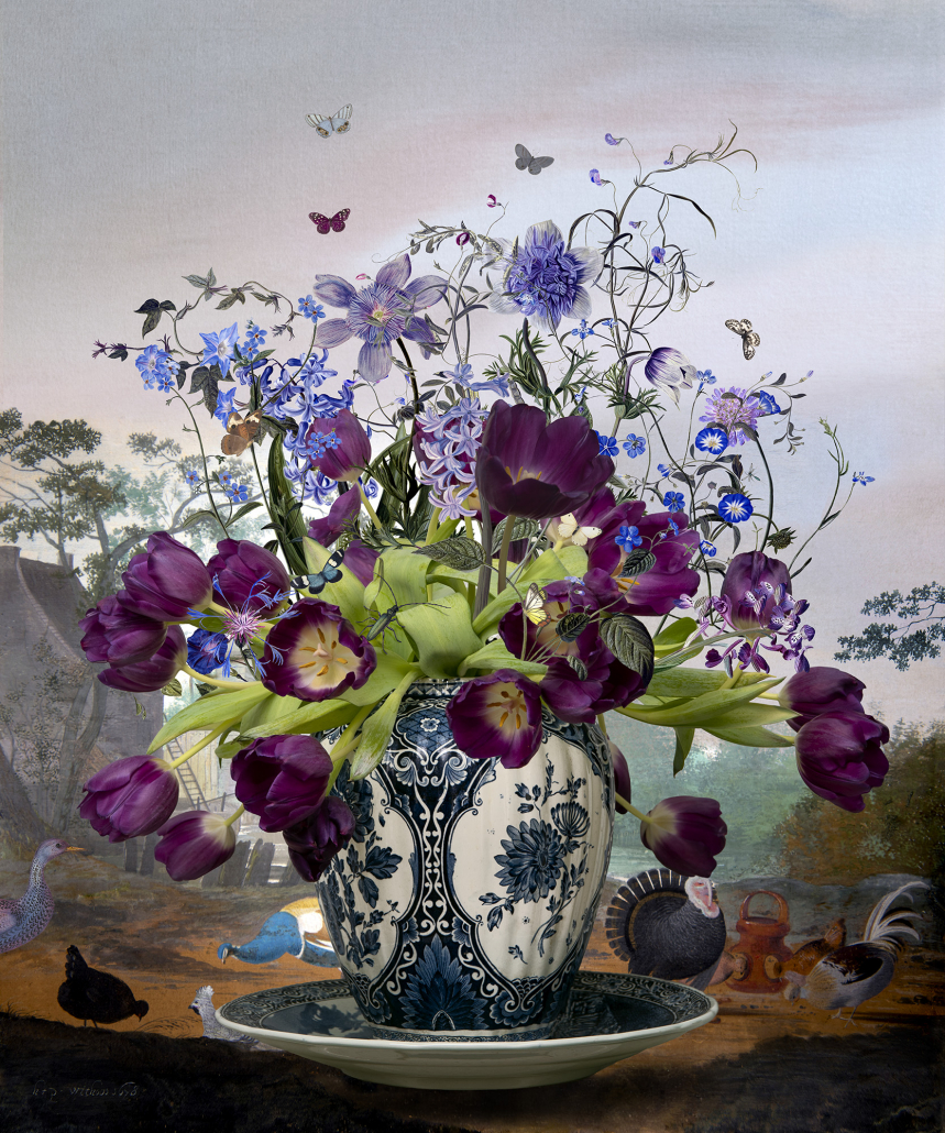 Kunst: Spring Breeze van kunstenaar Hans Withoos