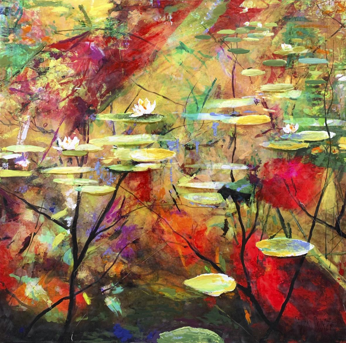 Kunst: Symbiose 110-12 van kunstenaar Suus Suiker
