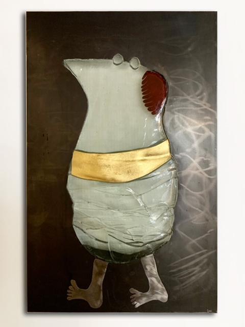 Kunst: The Buddha of Moeëjen Daag van kunstenaar Sjaak Smetsers