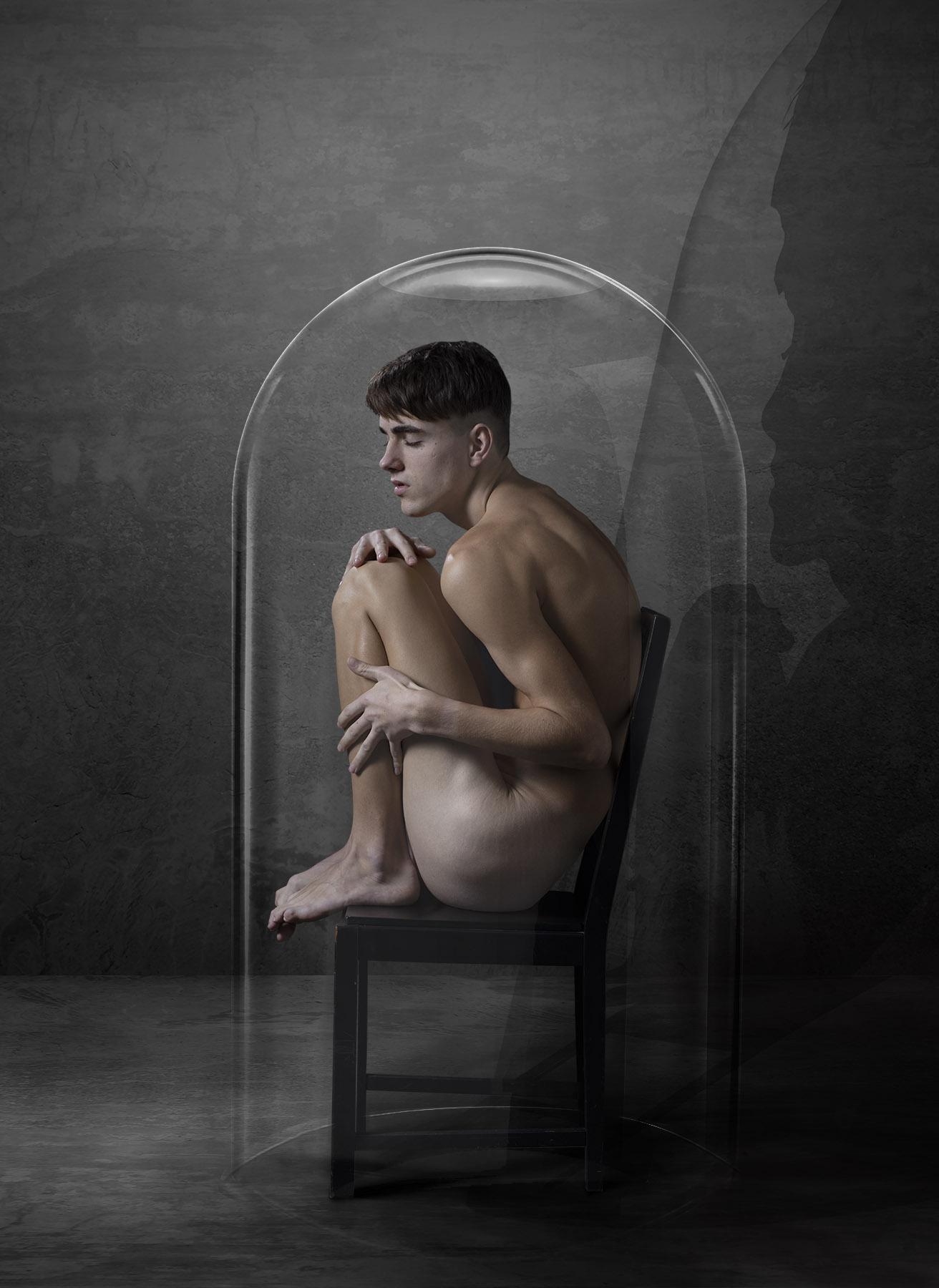 Kunst: Caught Safely van kunstenaar Gert Kist