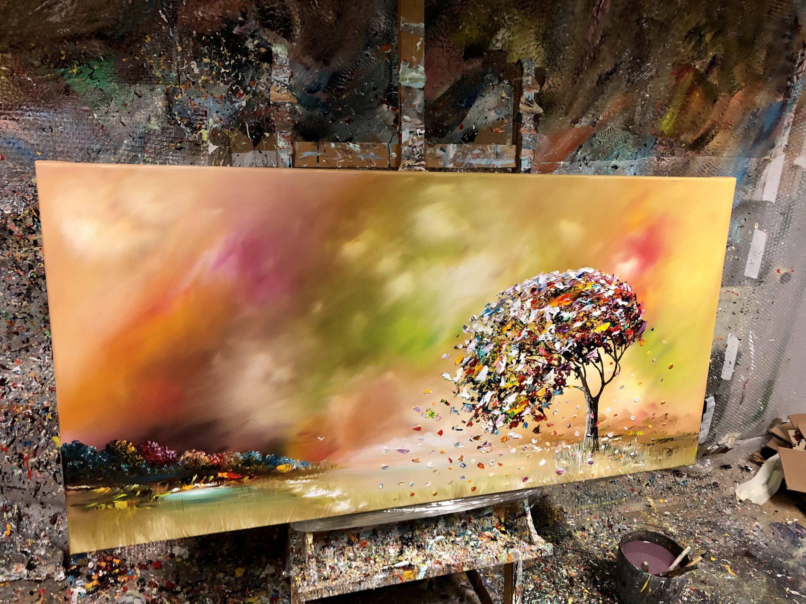 Kunst: Colorful Nature van kunstenaar Gena n Gena