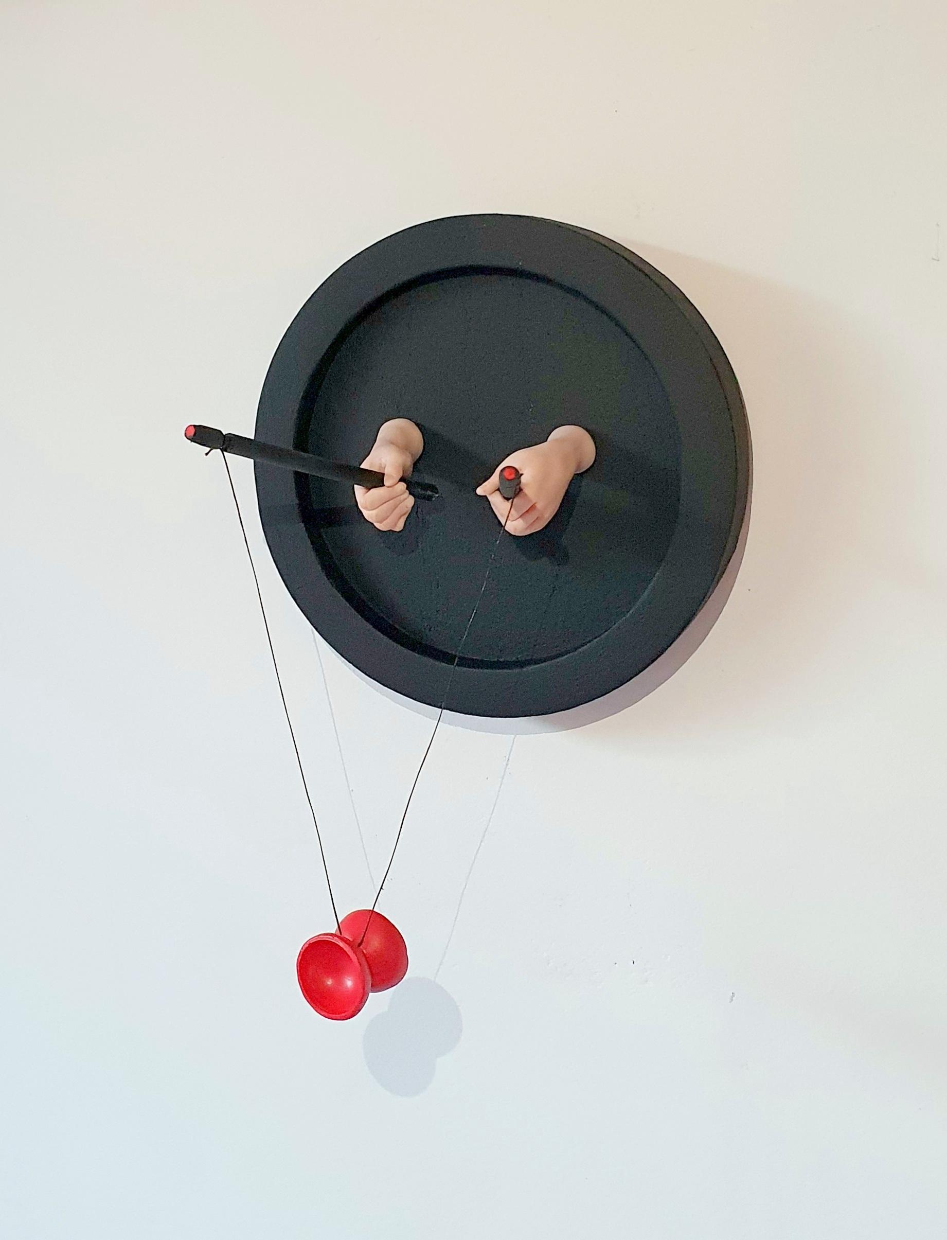 Kunst: Diabolo van kunstenaar Saskia Hoeboer