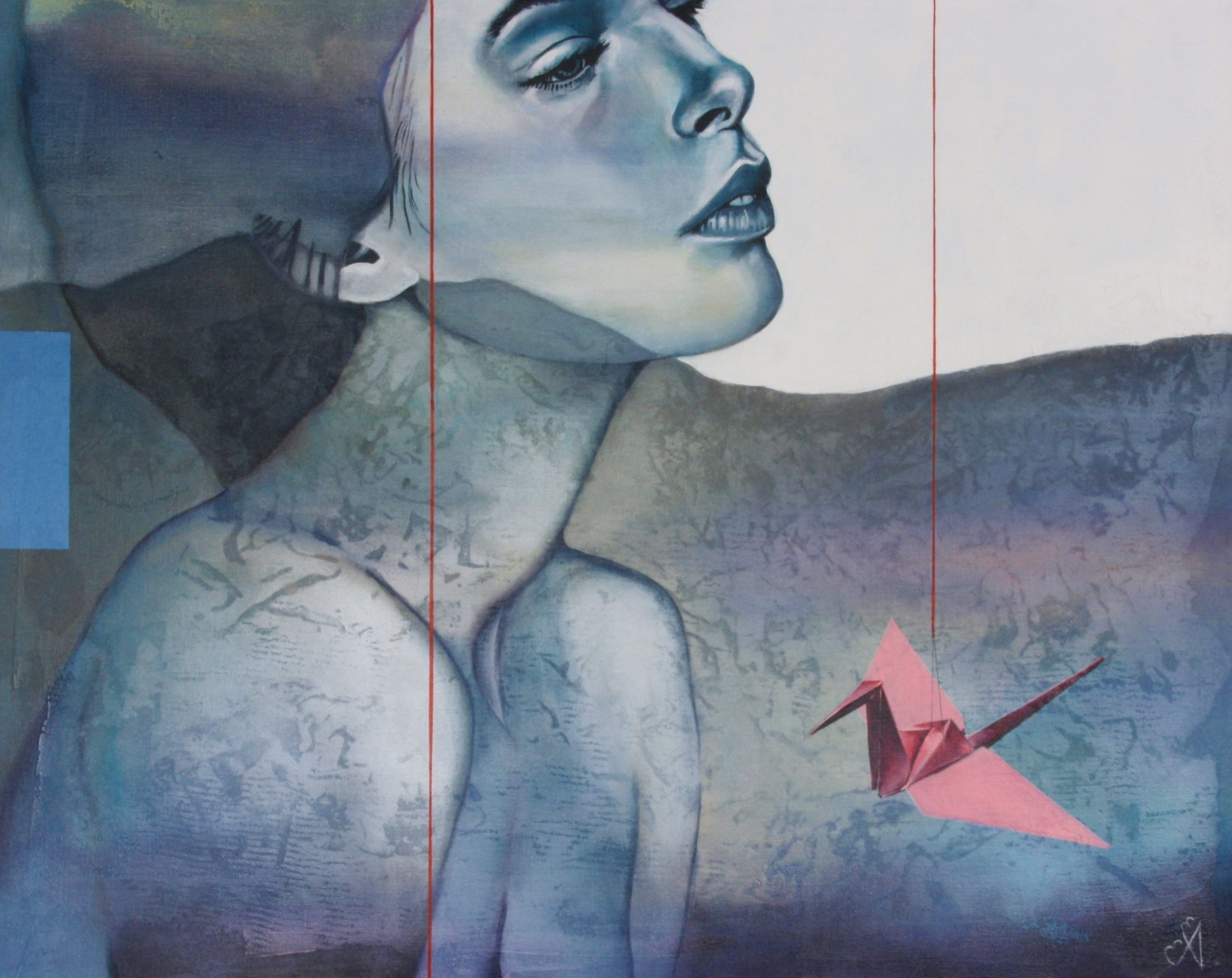 Kunst: Fragile van kunstenaar Angelique-Mathijssen-van-den Bosch