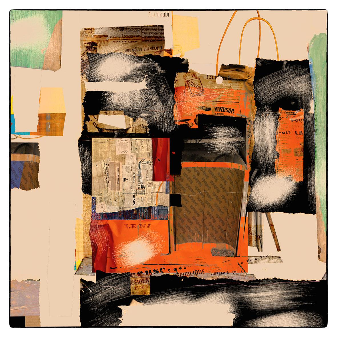 Kunst: French shopping van kunstenaar Geert Lemmers