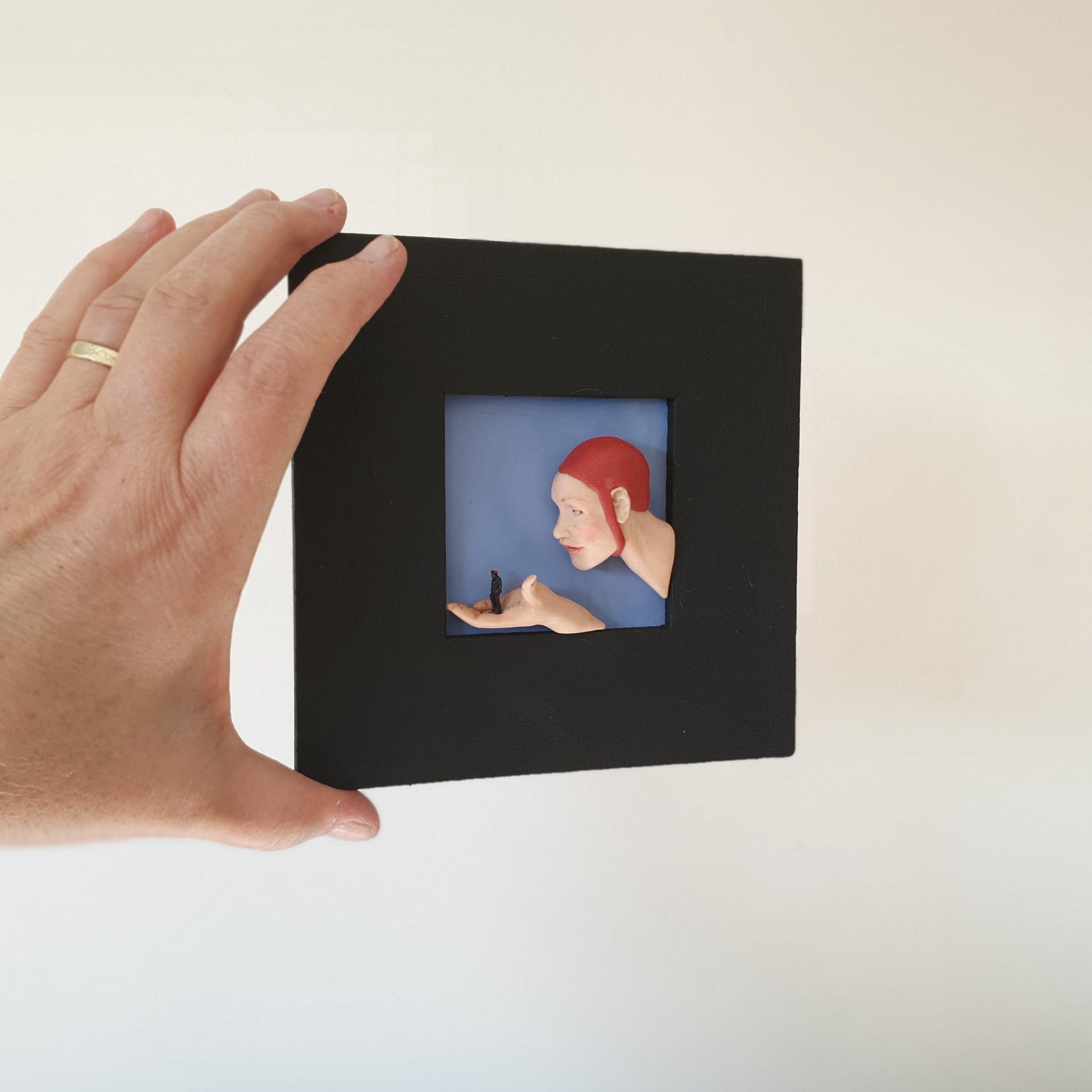 Kunst: Het loopt uit de hand van kunstenaar Saskia Hoeboer