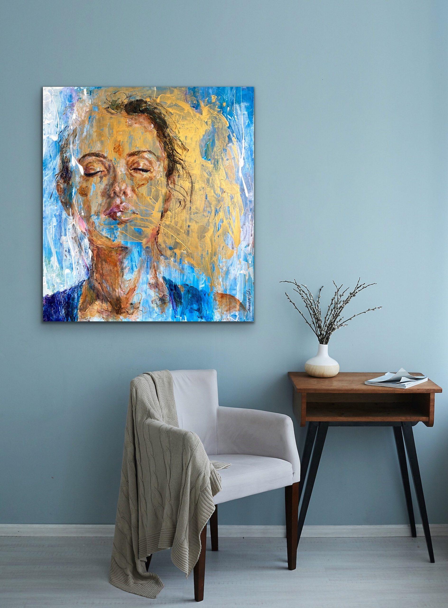Kunst: I Am THat I Am van kunstenaar Bernadette Sterk