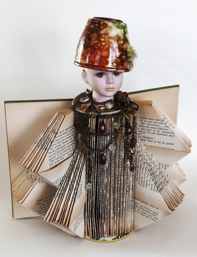 Kunst: I love my hat van kunstenaar Frida Badoux