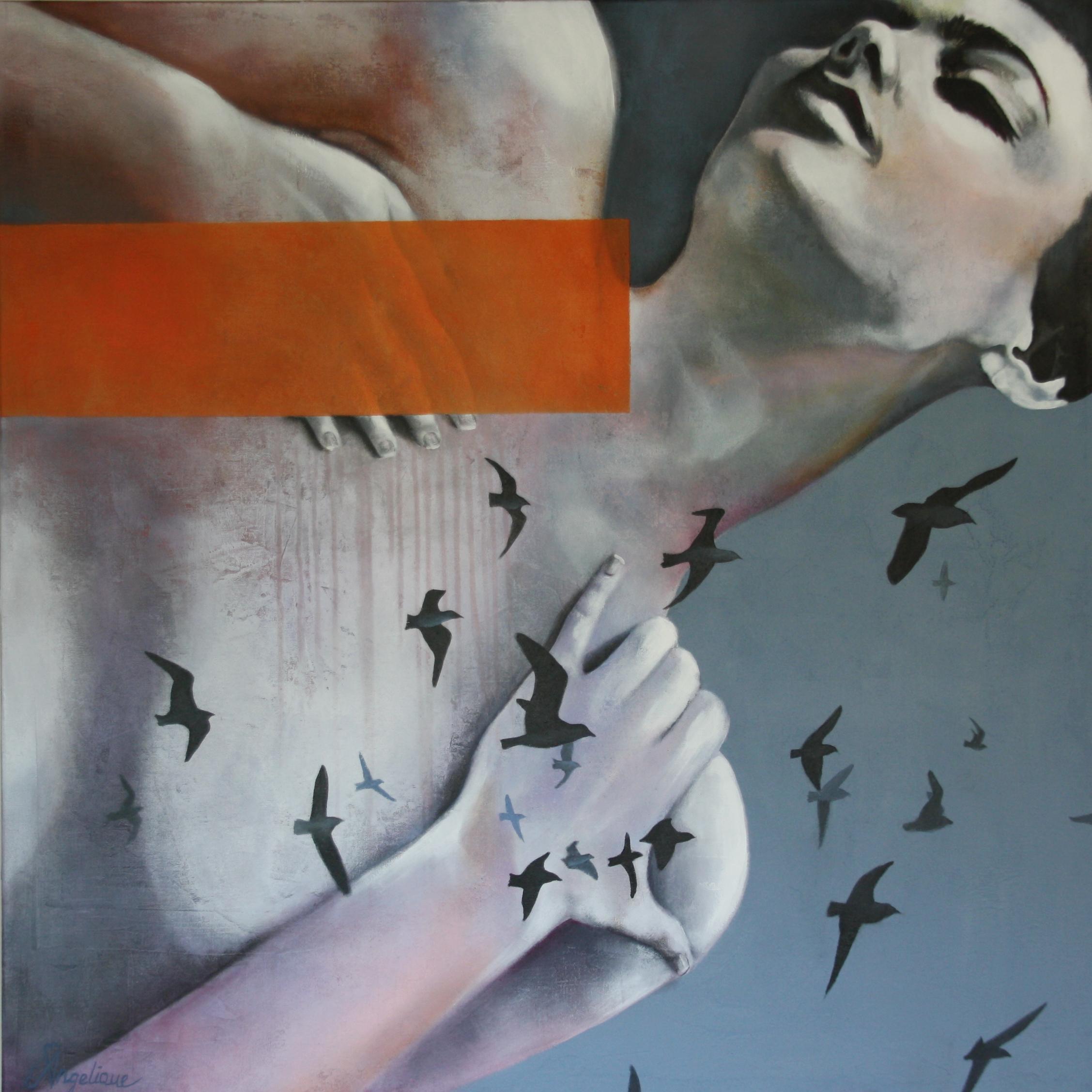 Kunst: In ecstasy van kunstenaar Angelique-Mathijssen-van-den Bosch