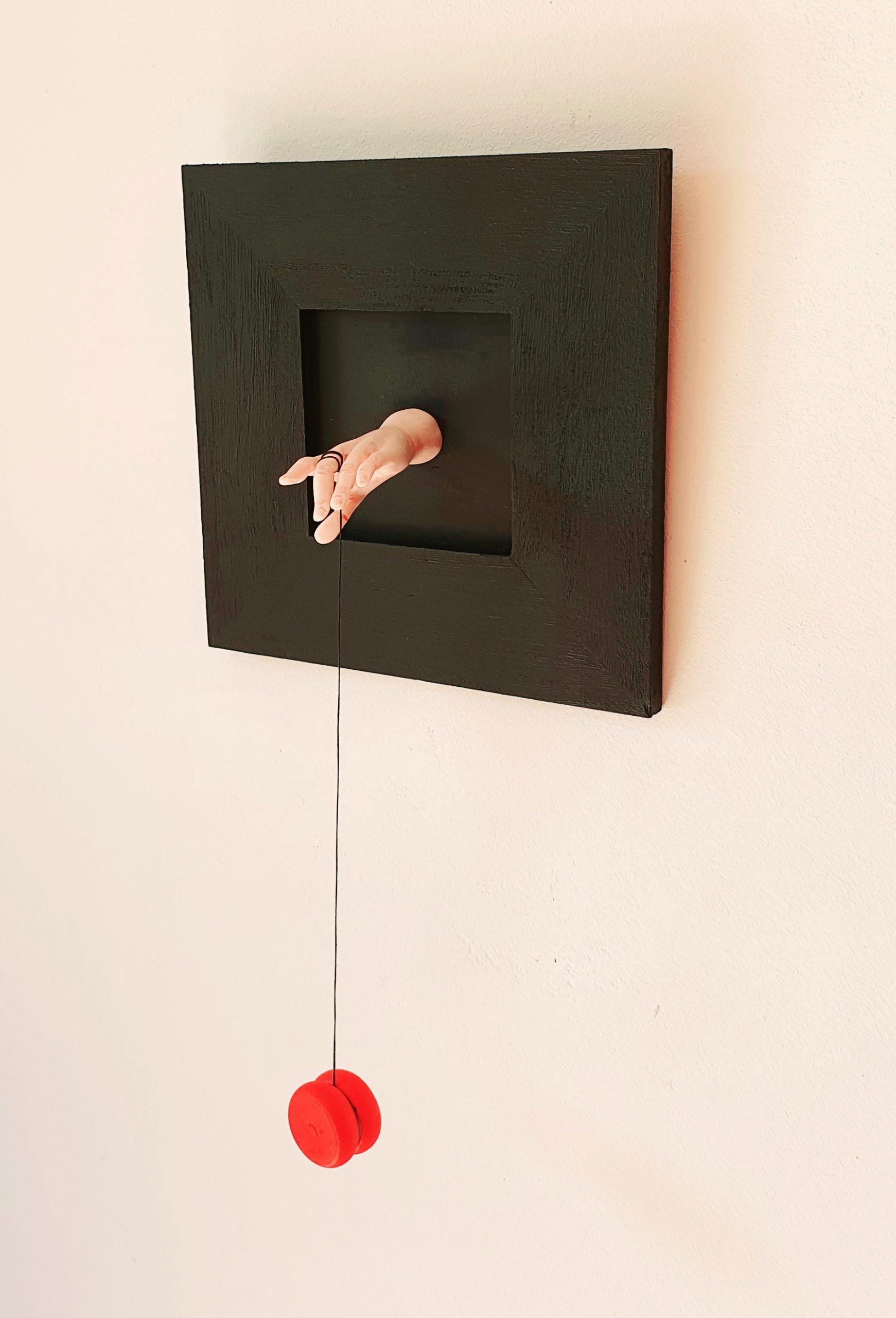 Kunst: jojo van kunstenaar Saskia Hoeboer
