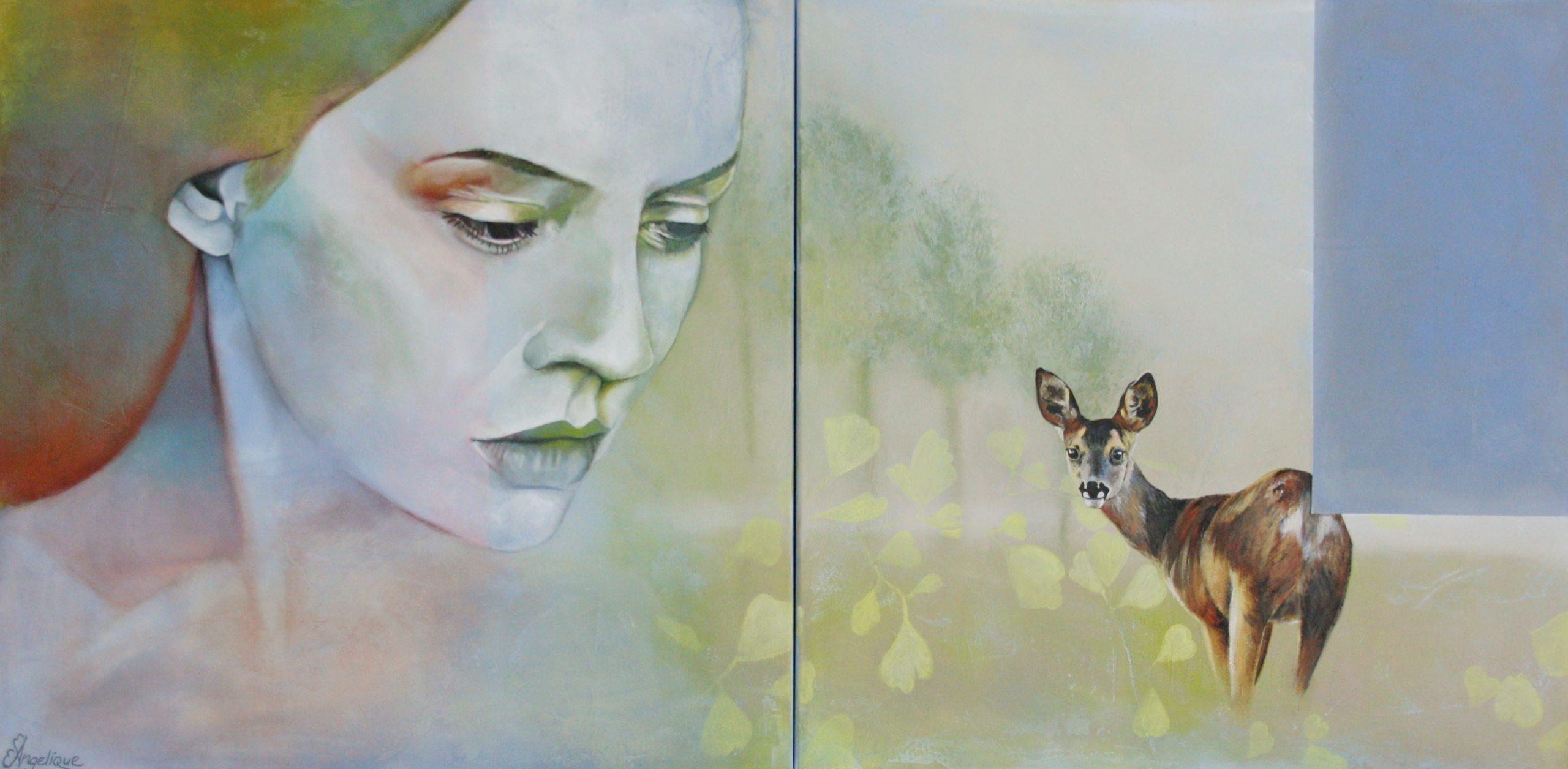Kunst: Knowing van kunstenaar Angelique-Mathijssen-van-den Bosch