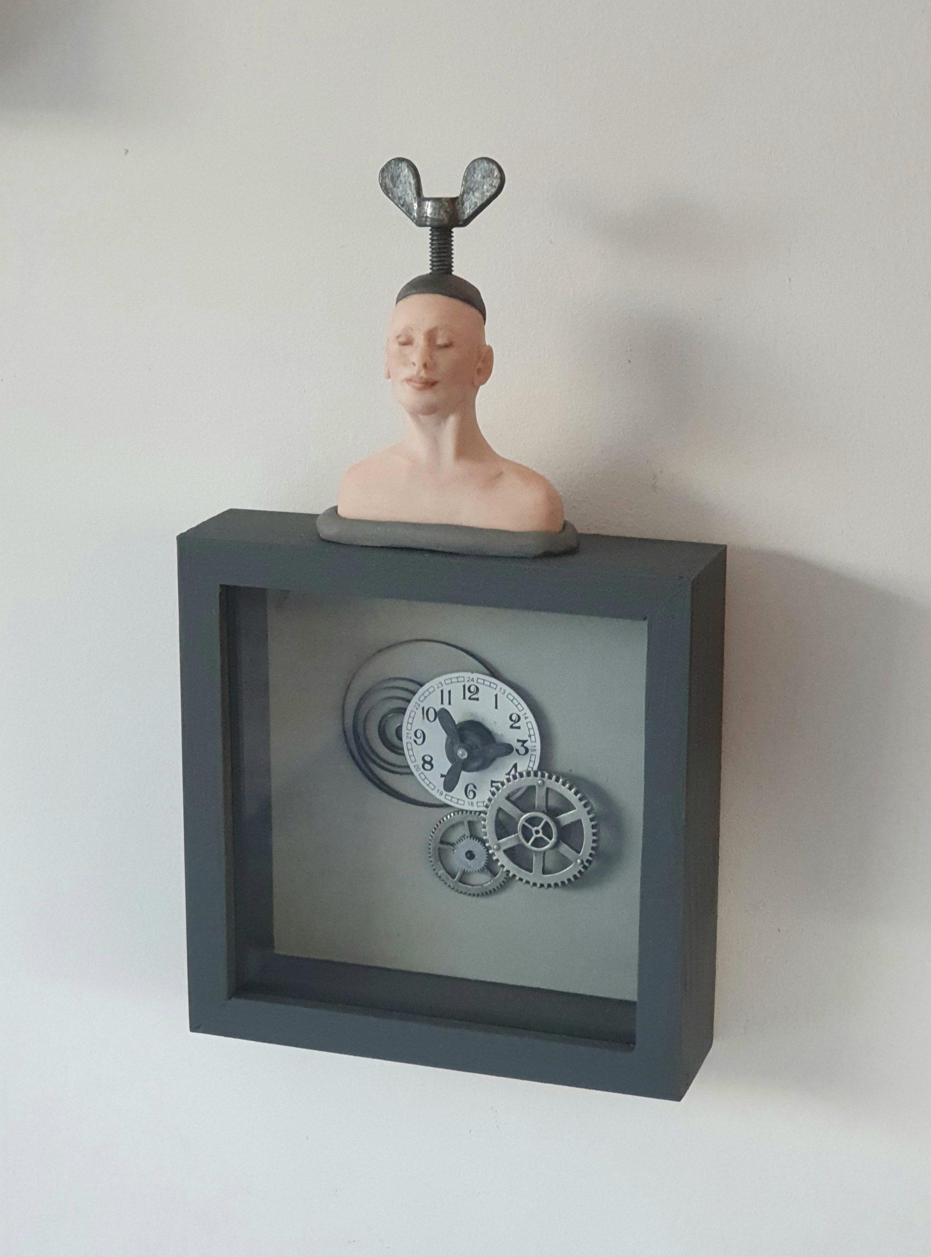 Kunst: Kon ik de tijd maar terug draaien van kunstenaar Saskia Hoeboer