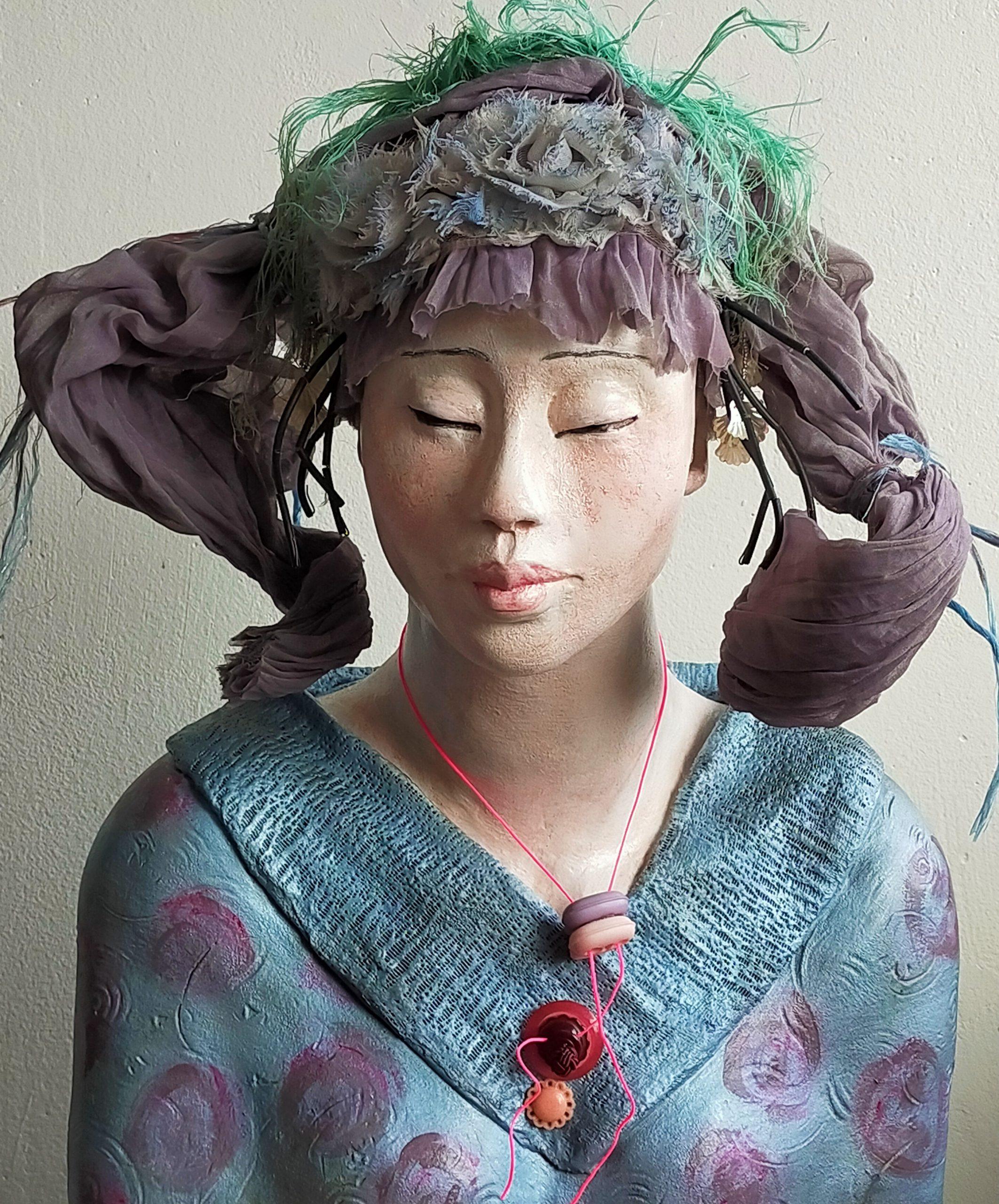Kunst: Miyo – Mooie generatie van kunstenaar Lilian Wessels