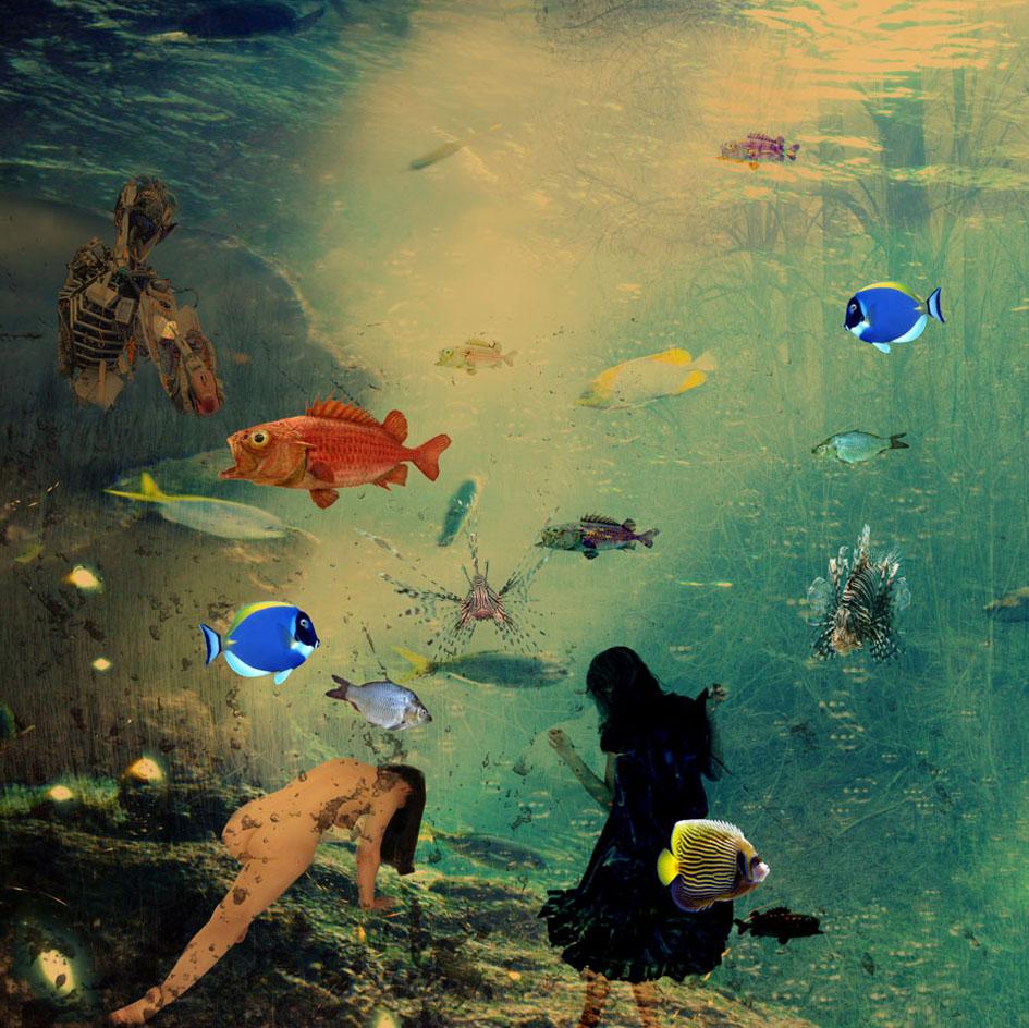 Kunst: My Elysion IX van kunstenaar Geert Lemmers