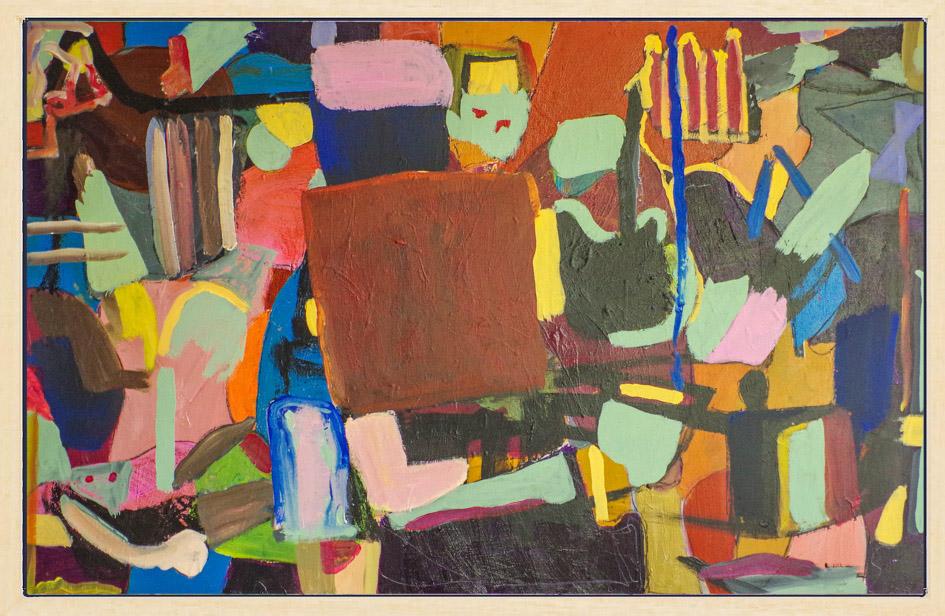 Kunst: Plateau der Menschheit Opus 48 van kunstenaar Geert Lemmers