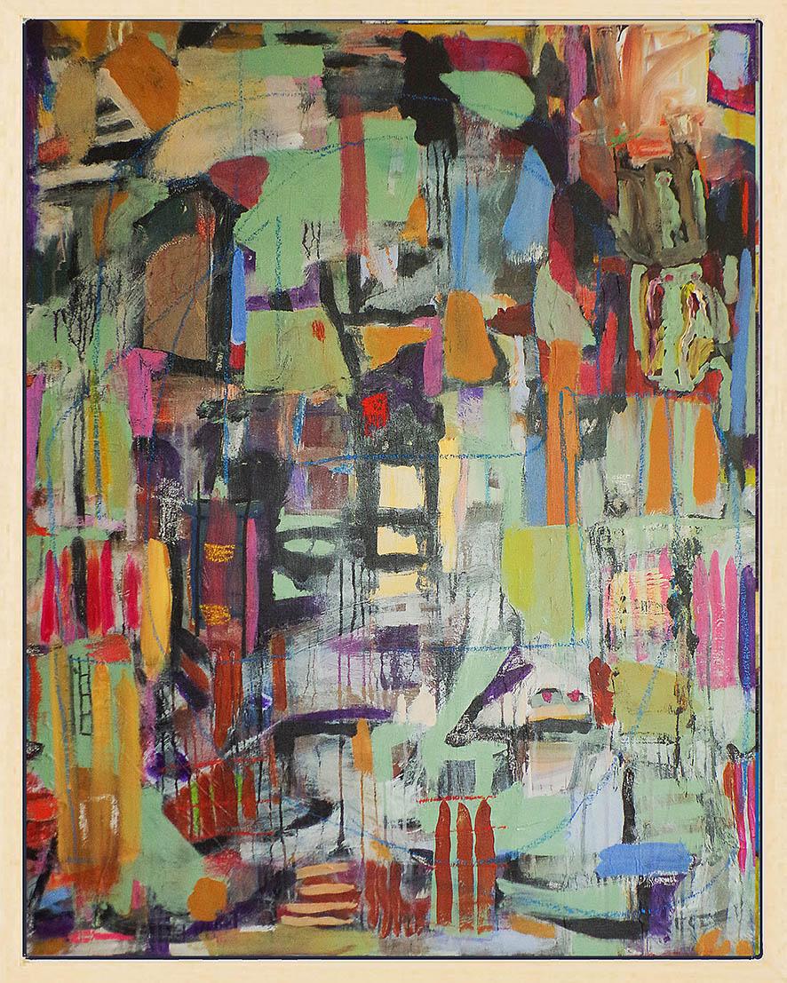 Kunst: Plateau der Menschheit opus 49 van kunstenaar Geert Lemmers