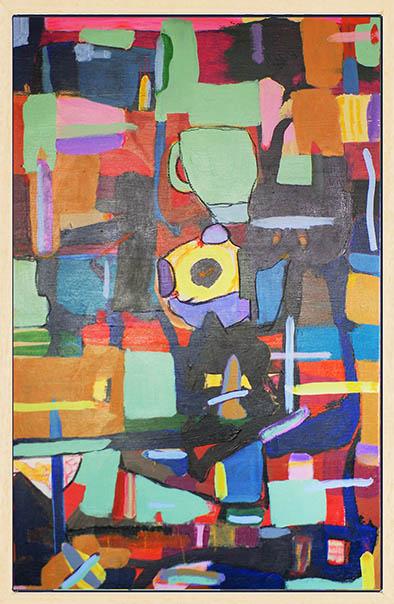 Kunst: Plateau der Menschheit opus 50 van kunstenaar Geert Lemmers