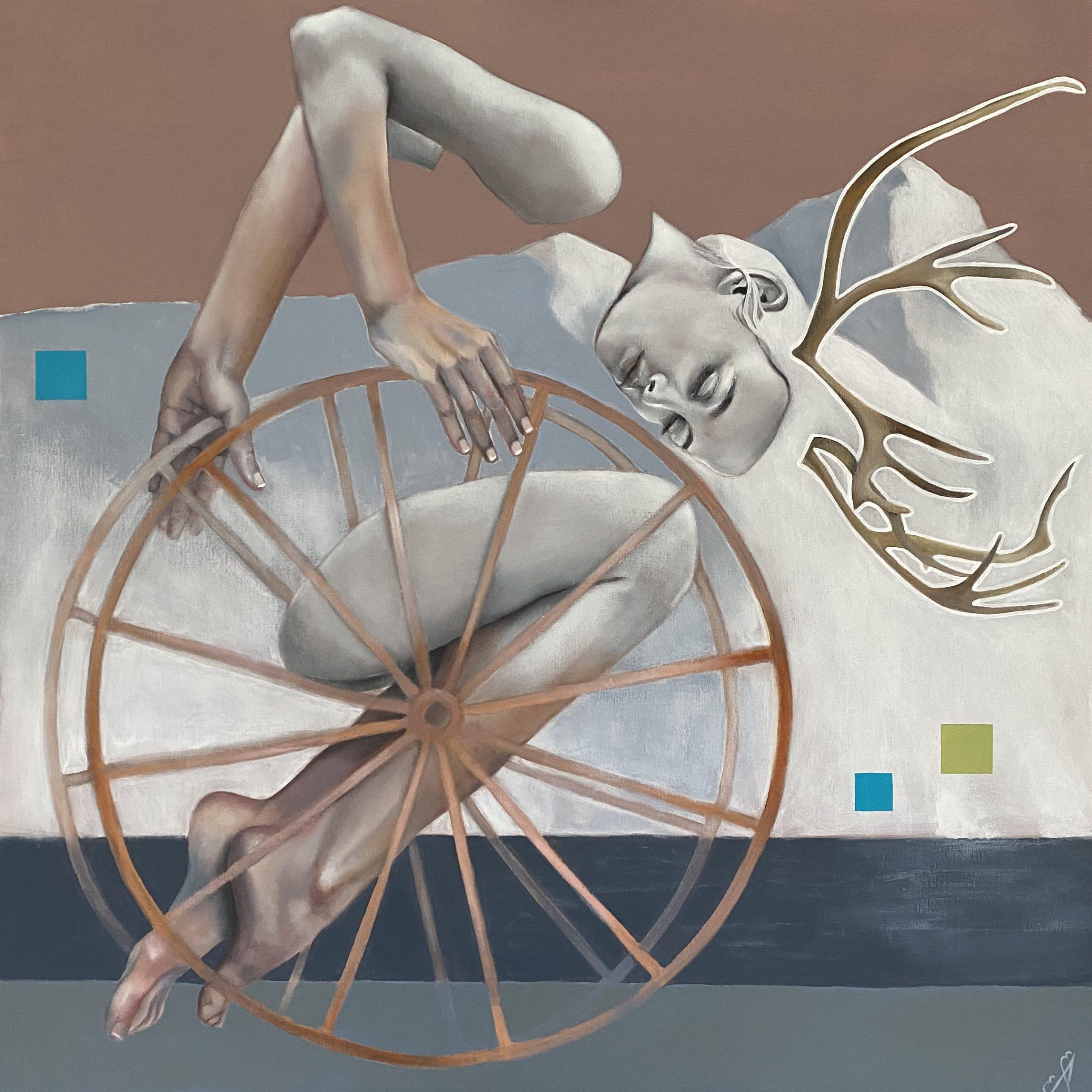 Kunst: Poetry of perseverence van kunstenaar Angelique-Mathijssen-van-den Bosch