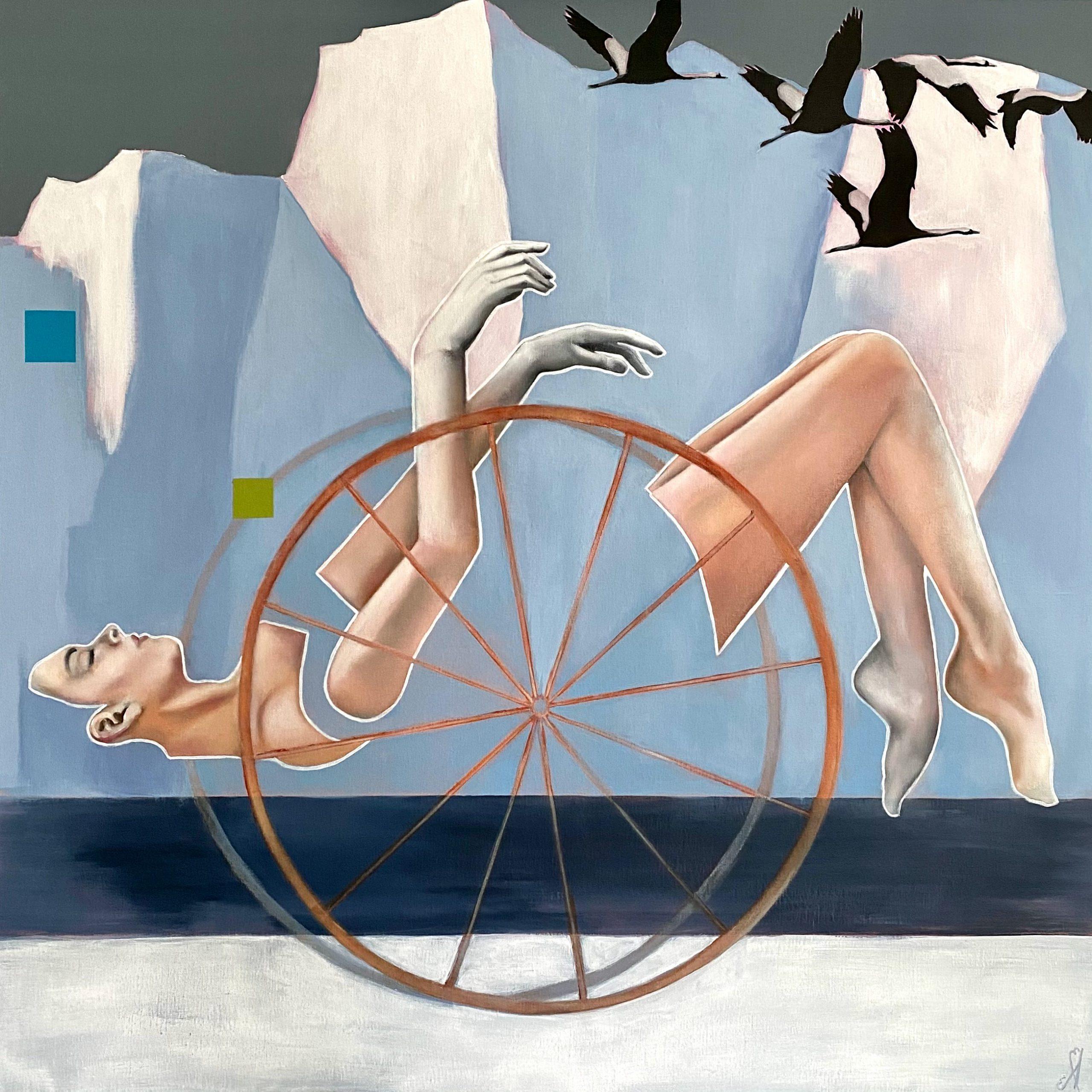 Kunst: Sweet surrender van kunstenaar Angelique-Mathijssen-van-den Bosch