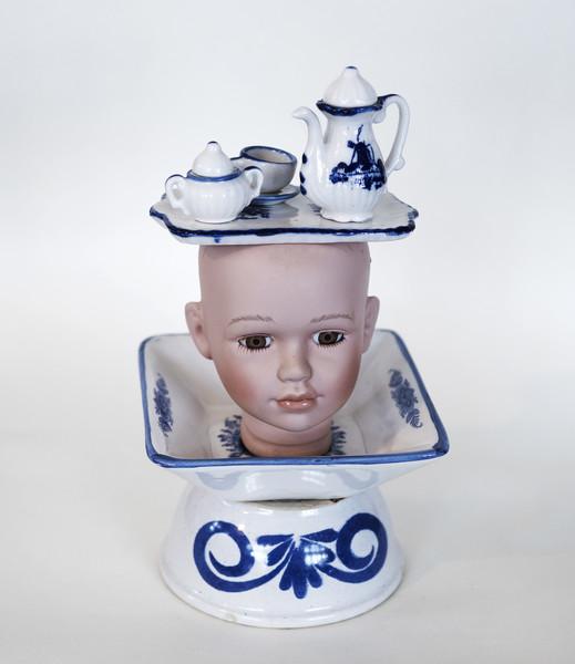 Kunst: Tea party van kunstenaar Frida Badoux
