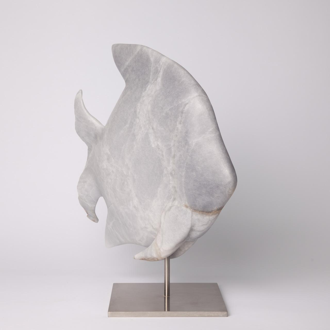 Kunst: Vis van kunstenaar Hortense  de Kooter