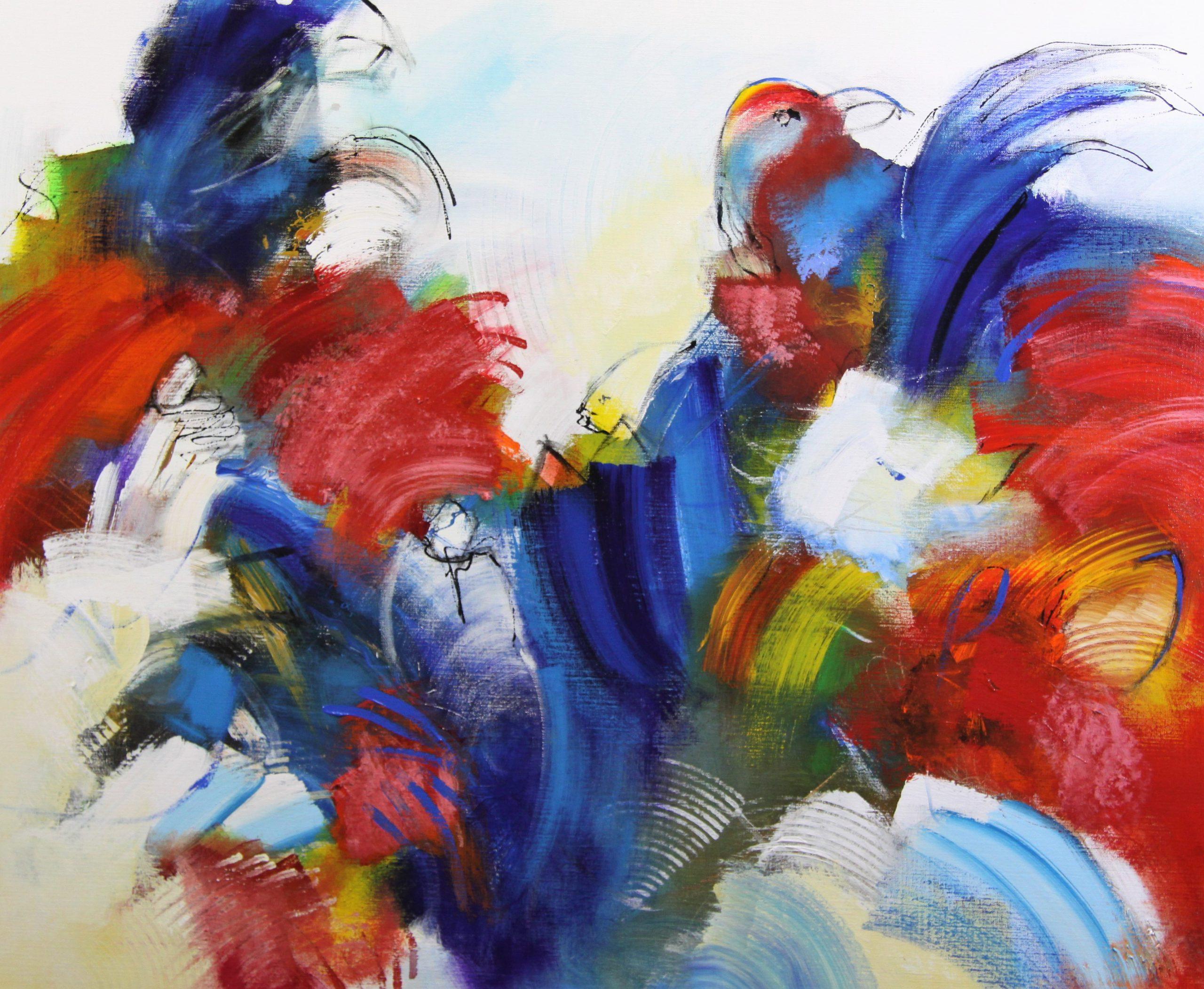 Kunst: 2101 Waakzaam blijven van kunstenaar Jos van Beek
