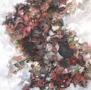 Schilderij Marly Freij Zomerexpositie Draai