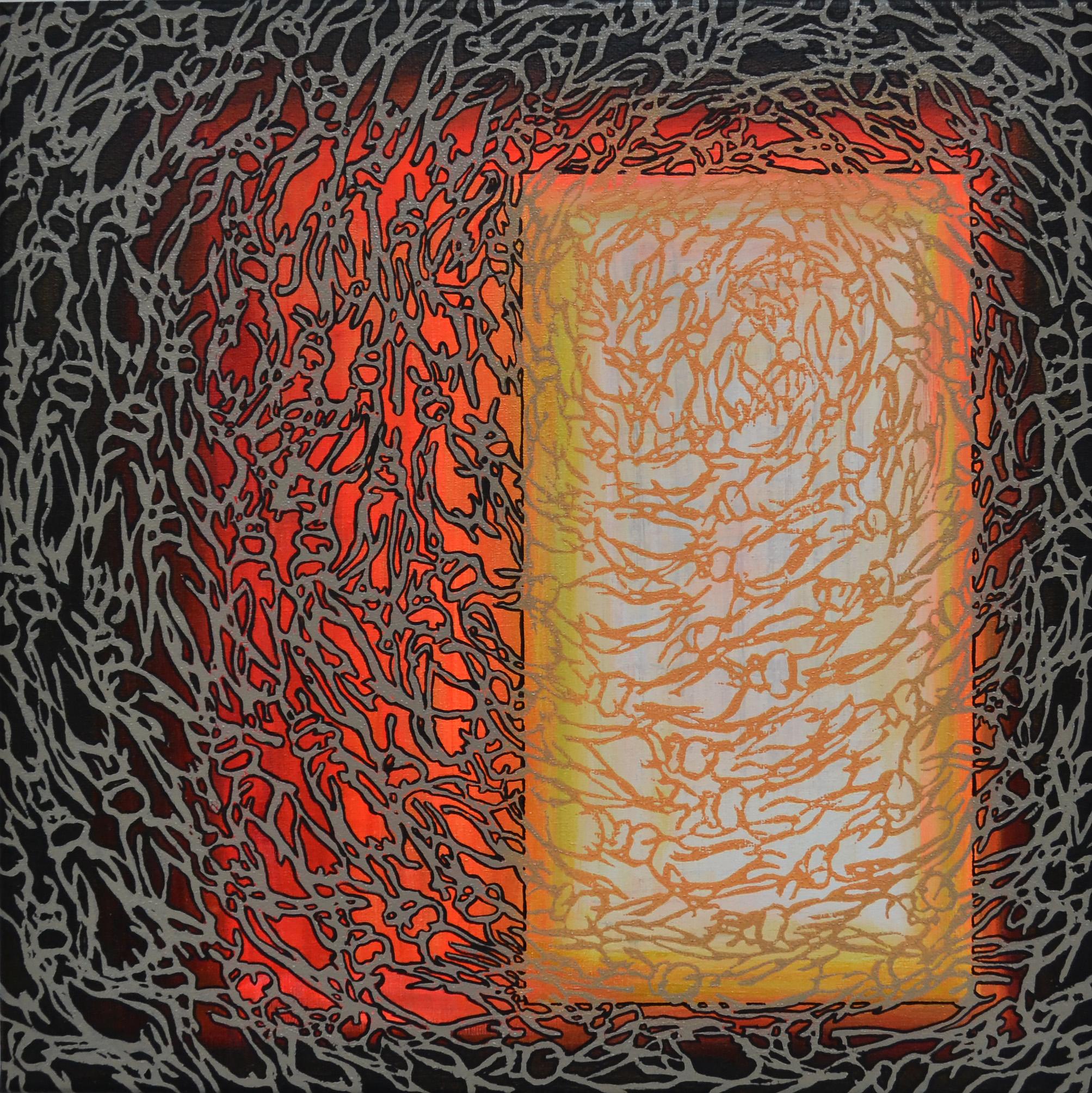 Kunst: A 2021 27 van kunstenaar Martin Copier