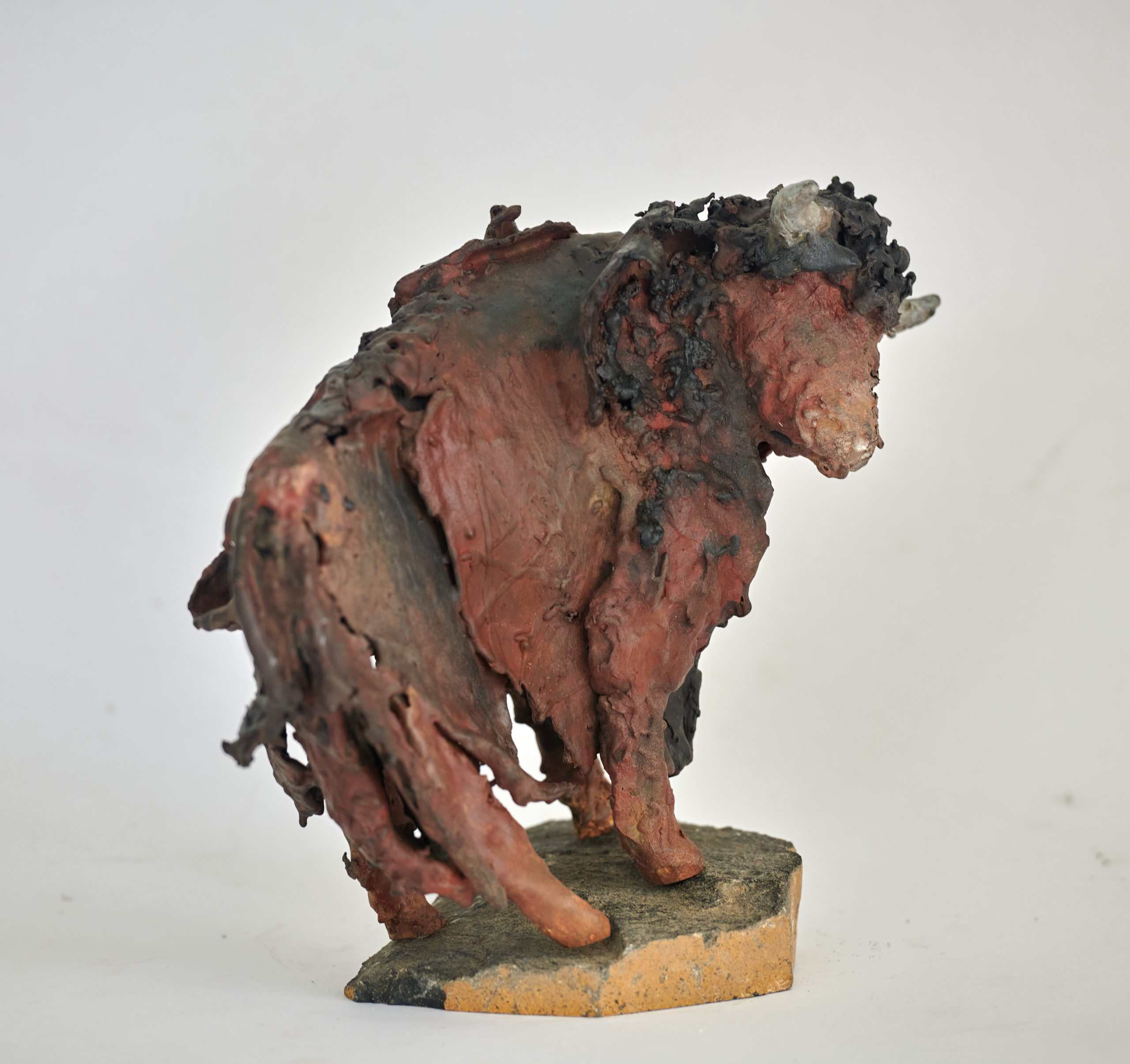 Kunst: Bizon 3 van kunstenaar Edith Stoel