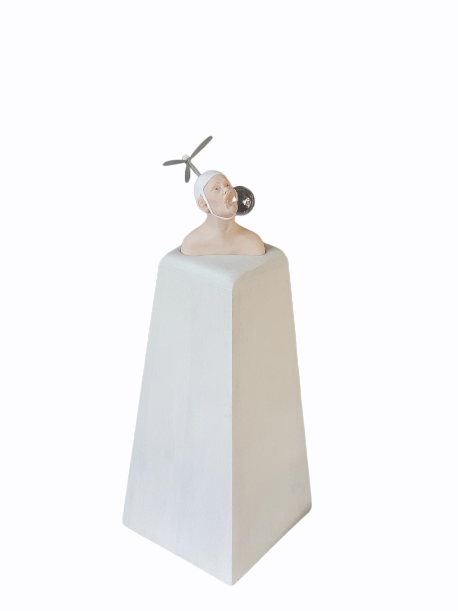 Kunst: Blowing in the wind van kunstenaar Saskia Hoeboer