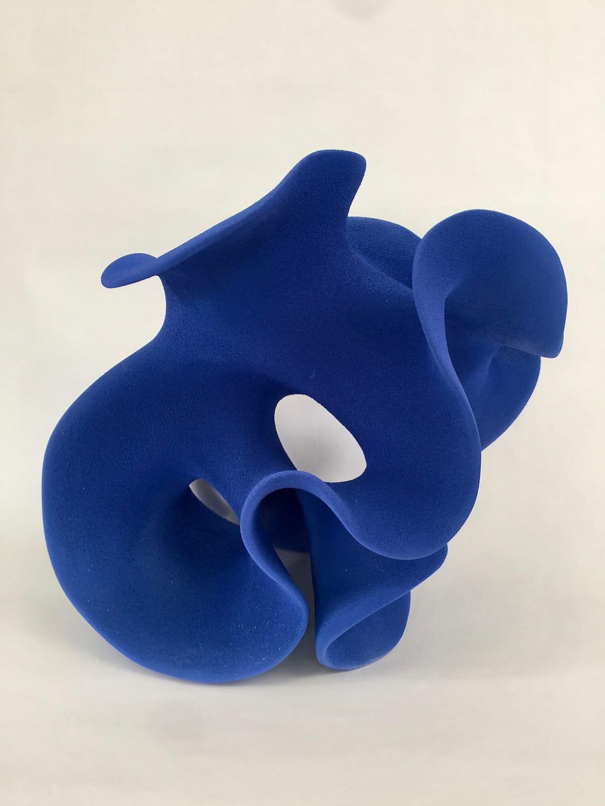 Kunst: Deep blue van kunstenaar Liliane Demeester