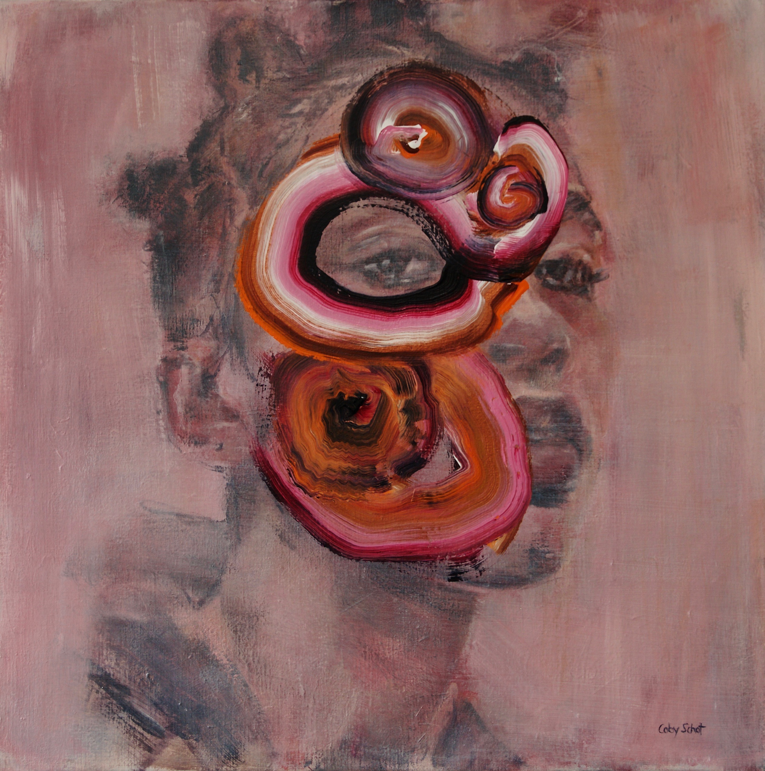Kunst: Don't fool around with me van kunstenaar Coby Schot