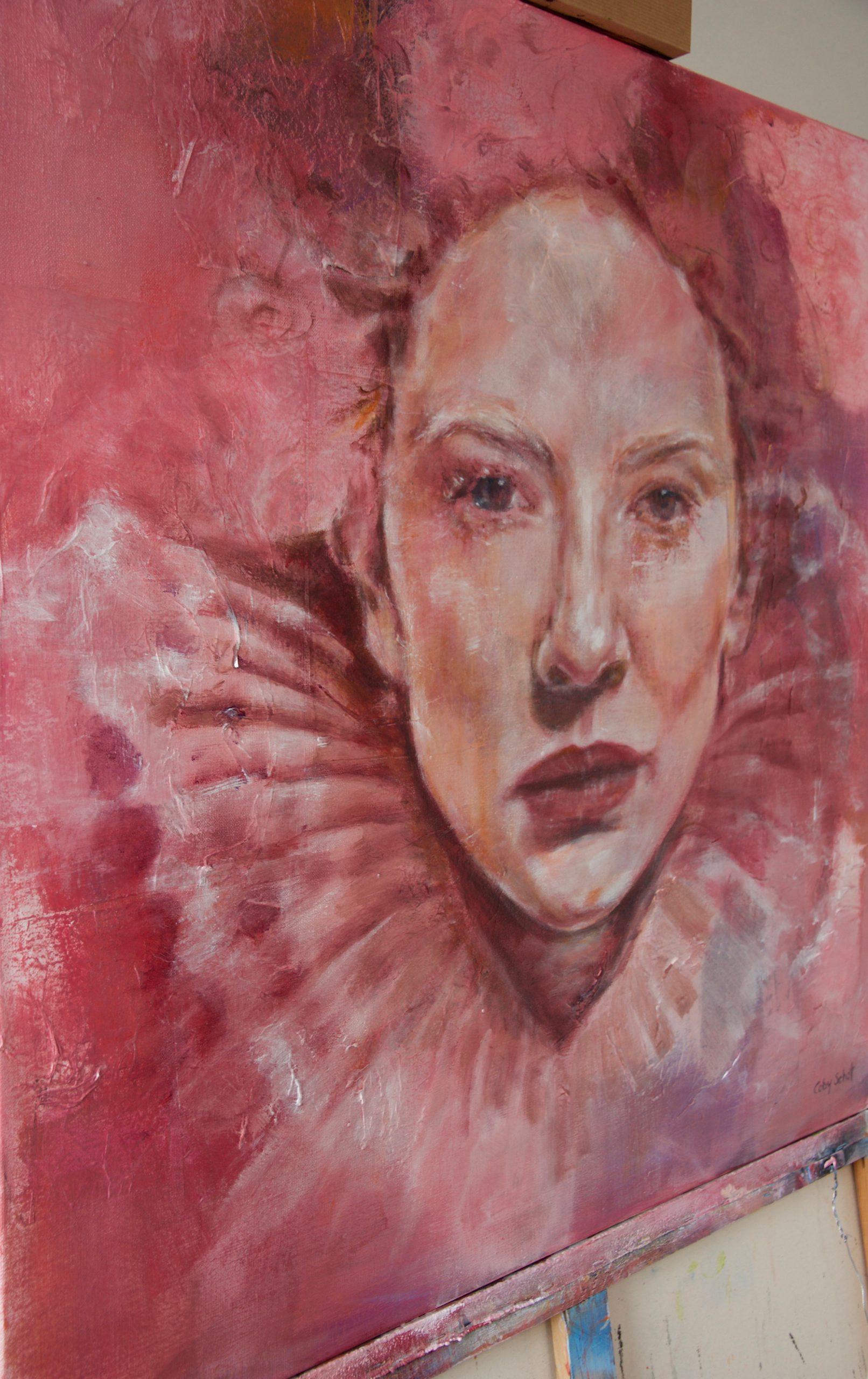 Kunst: Elizabeth van kunstenaar Coby Schot