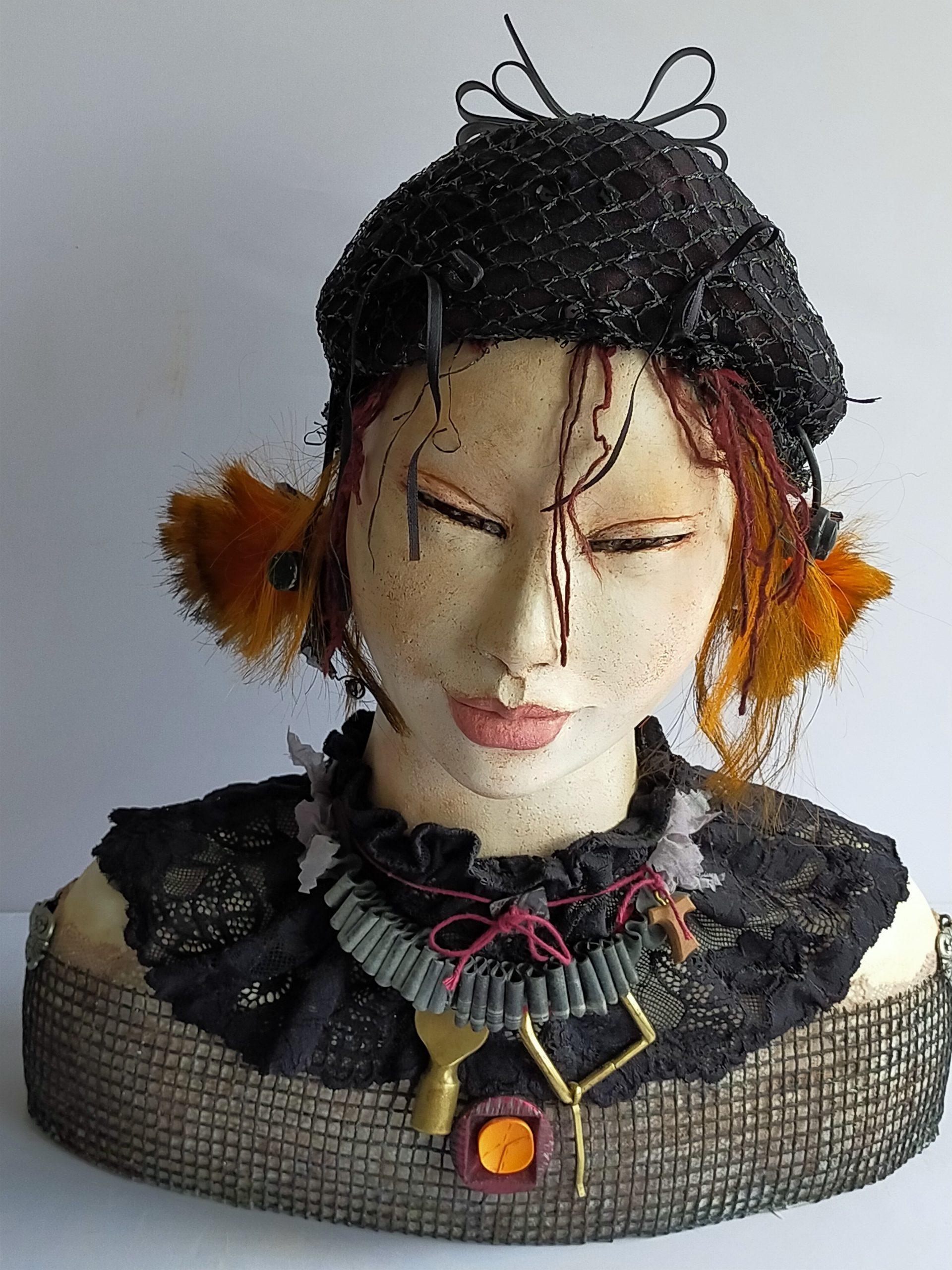 Kunst: Gothic Lolita van kunstenaar Lilian Wessels