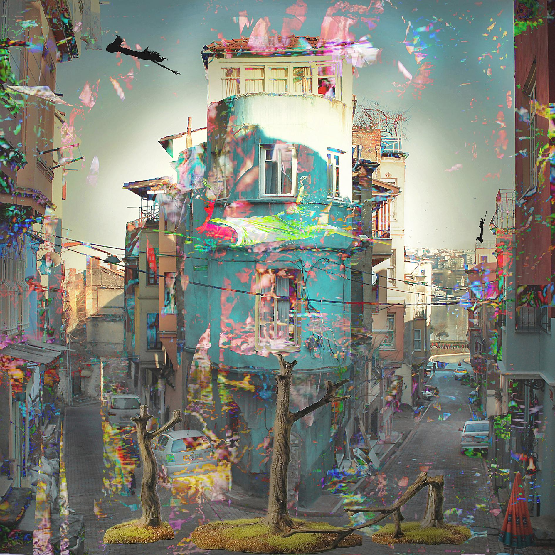 Kunst: I have seen this in my hometown van kunstenaar Geert Lemmers