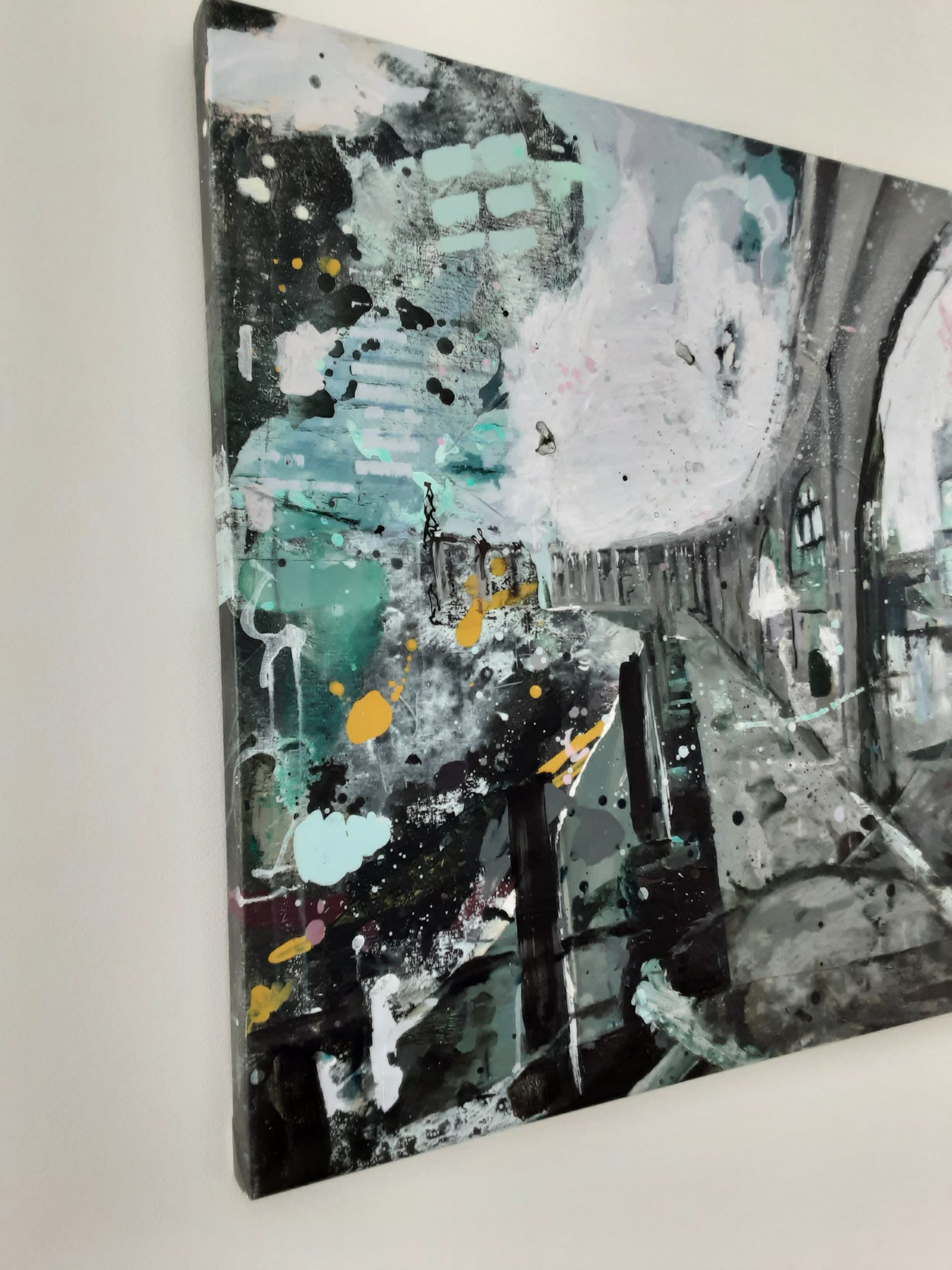 Kunst: Path a long the water van kunstenaar Anneke Koster