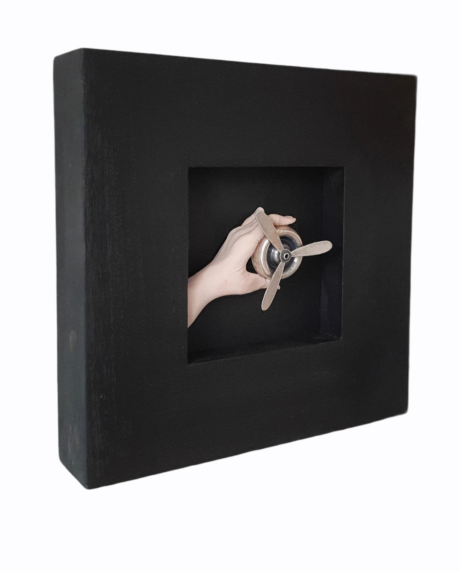Kunst: Propeller, metaal van kunstenaar Saskia Hoeboer