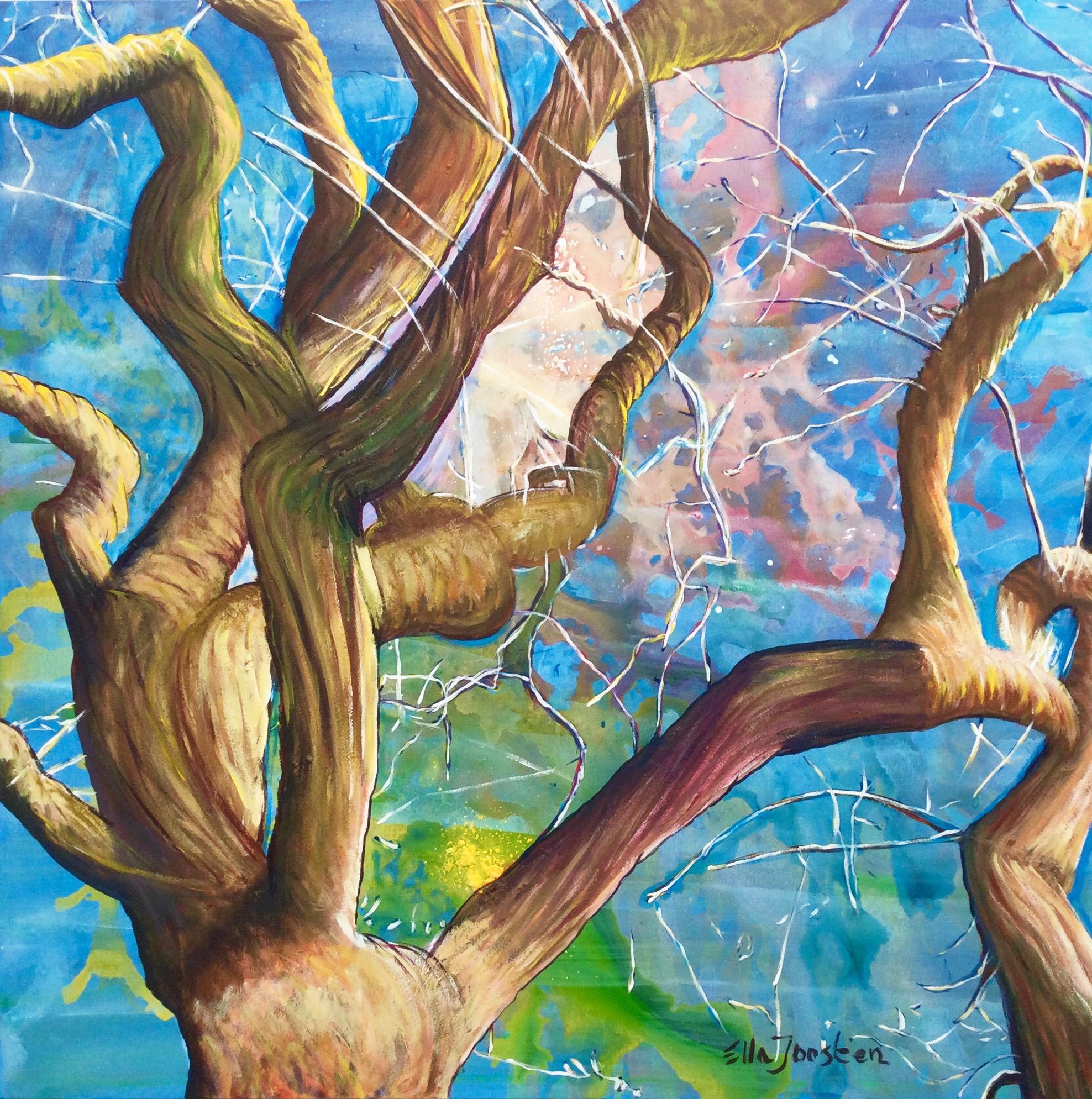 Kunst: Reflection 15 van kunstenaar Ella Joosten
