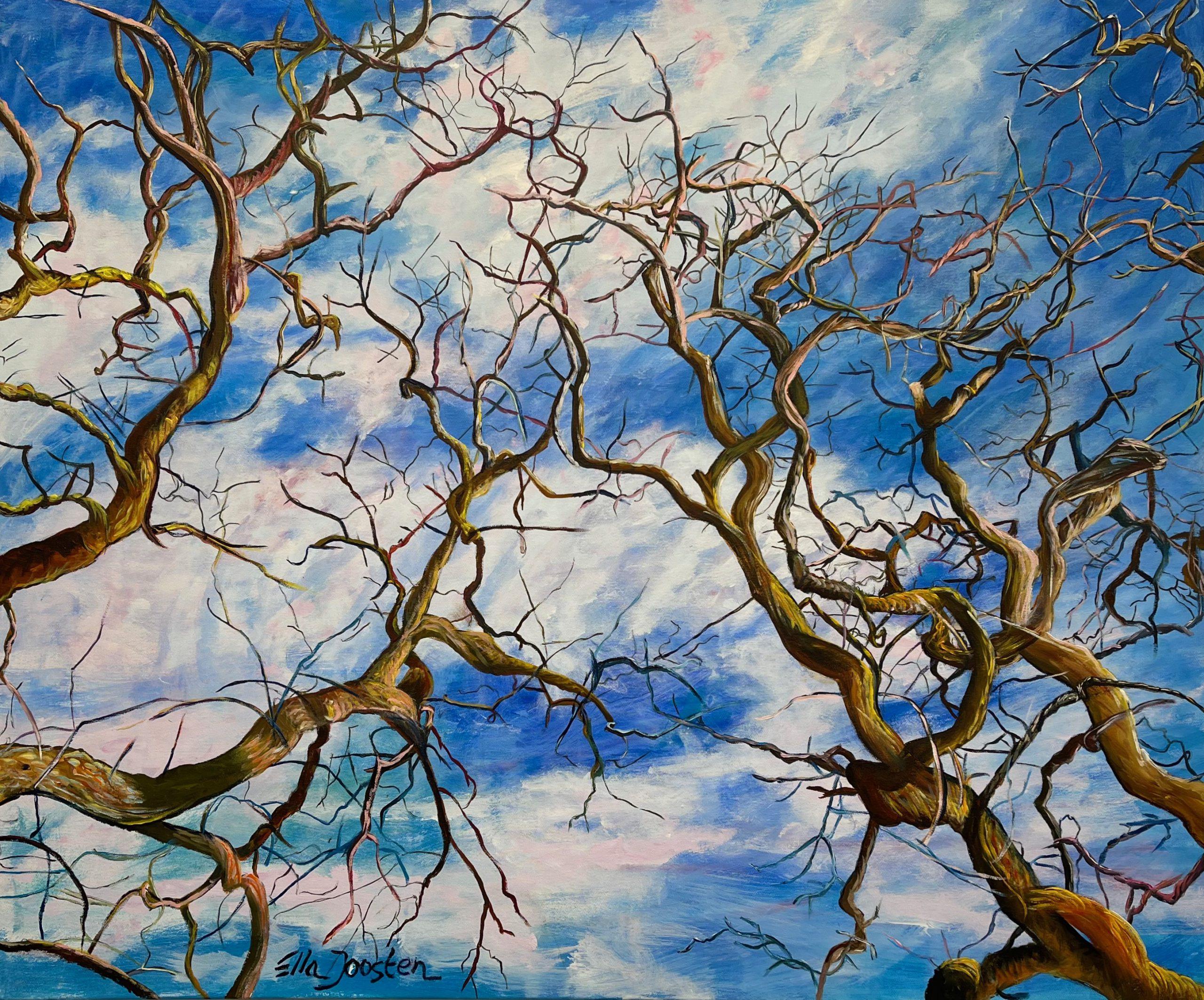 Kunst: Reflection 16 van kunstenaar Ella Joosten
