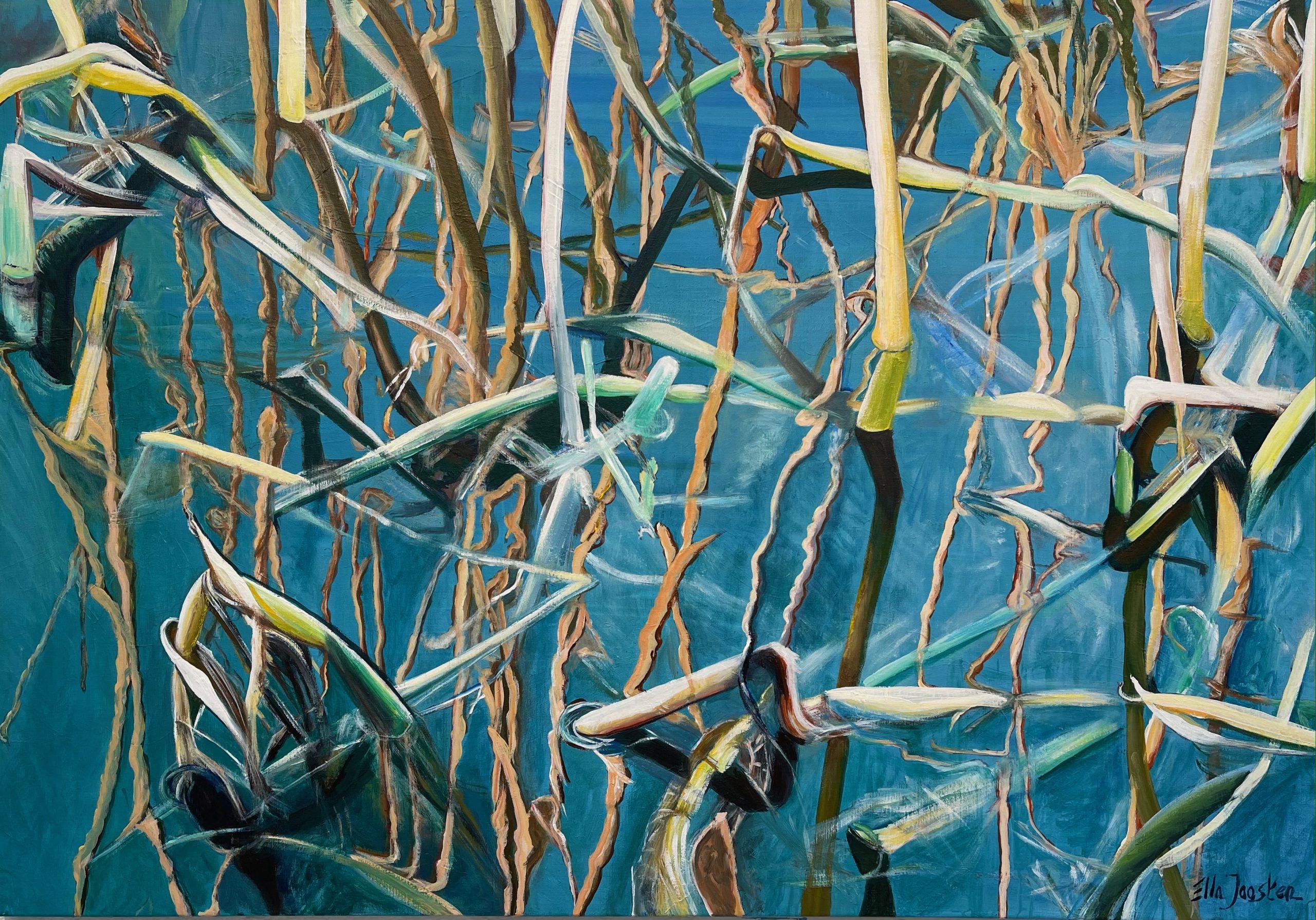Kunst: Reflection 7 van kunstenaar Ella Joosten