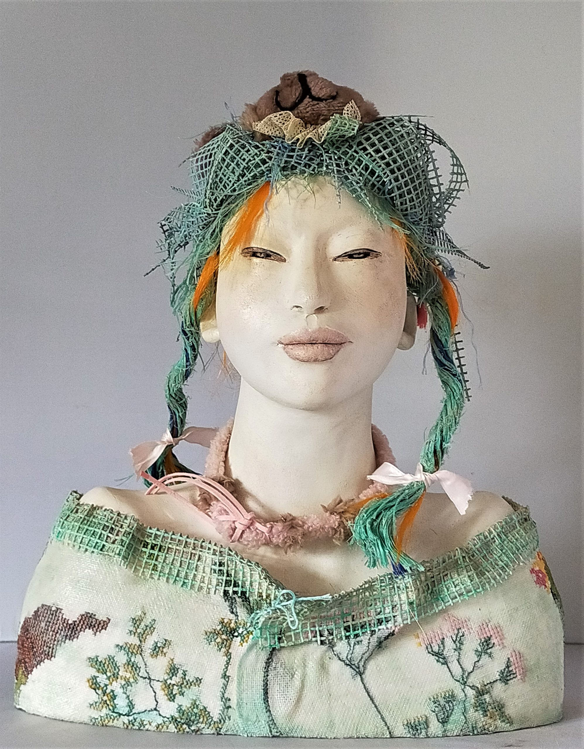 Kunst: Sweet Lolita van kunstenaar Lilian Wessels