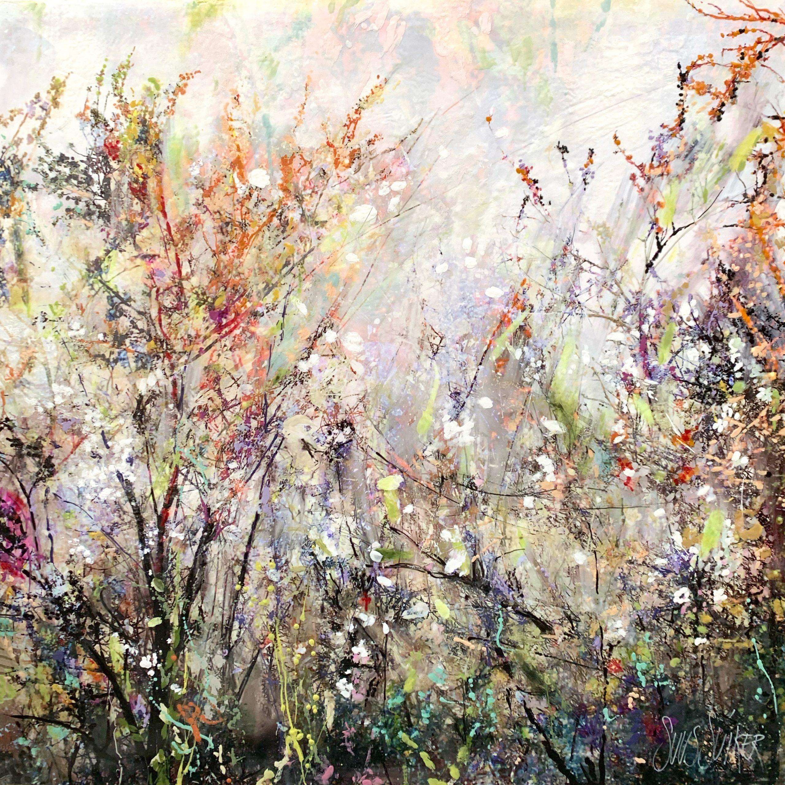 Kunst: Symbiose 120-09 van kunstenaar Suus Suiker