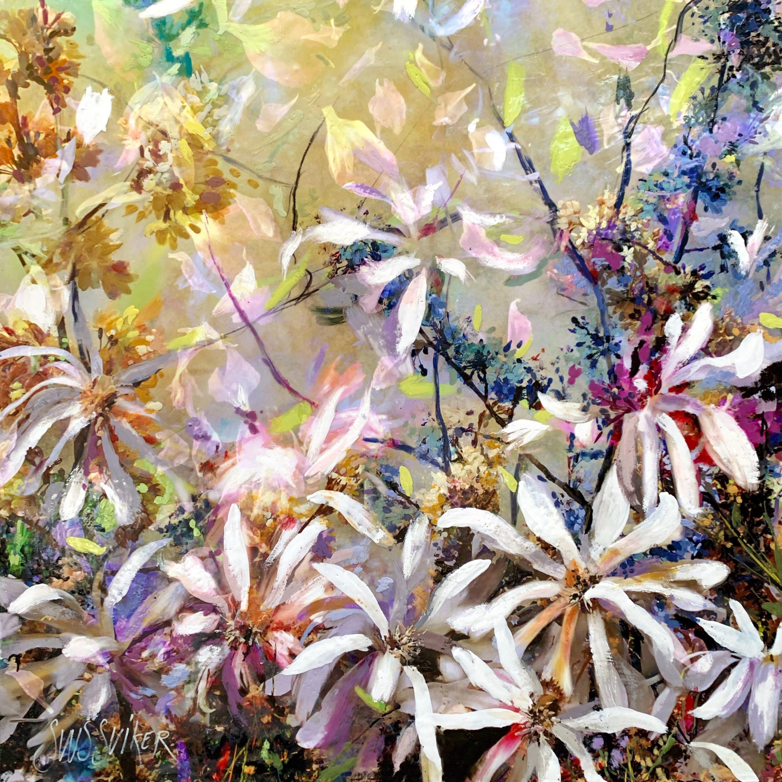 Kunst: Symbiose 90-12 van kunstenaar Suus Suiker
