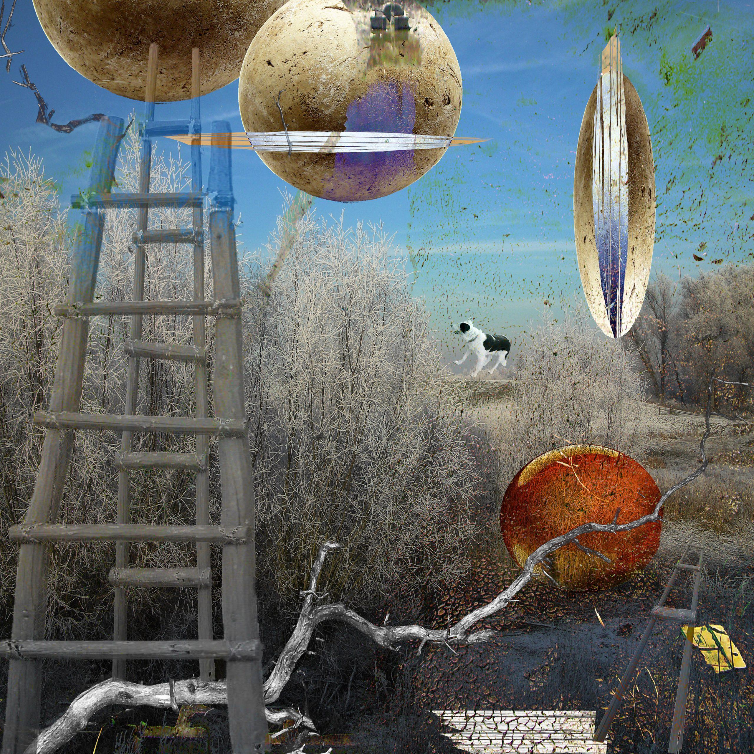 Kunst: The discovery of heaven van kunstenaar Geert Lemmers