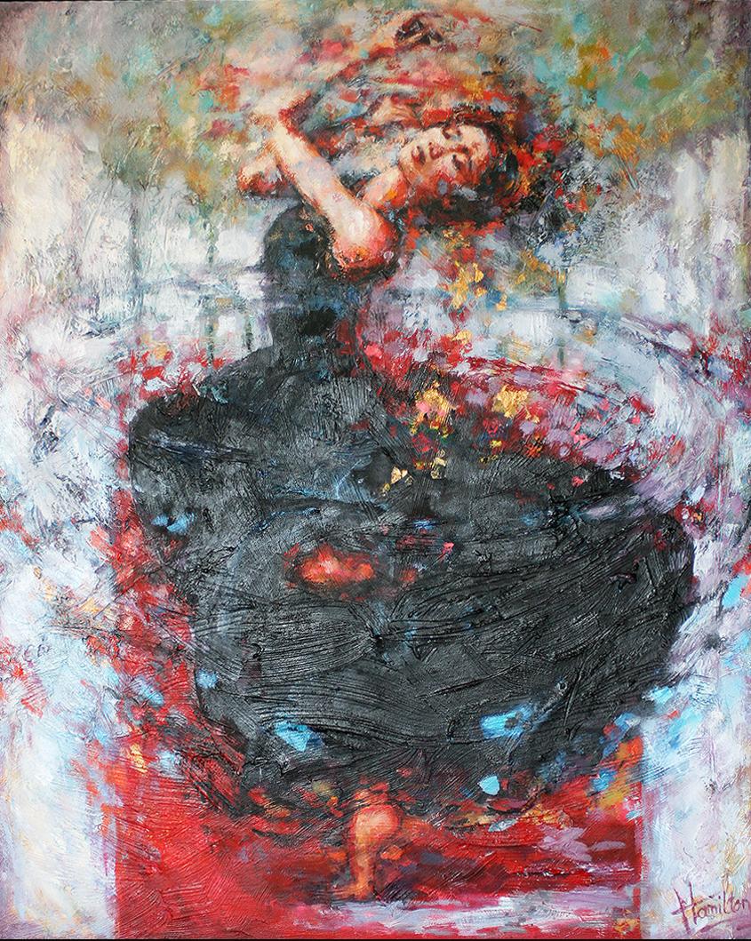 Kunst: Turn to be Free van kunstenaar Evelyn Hamilton