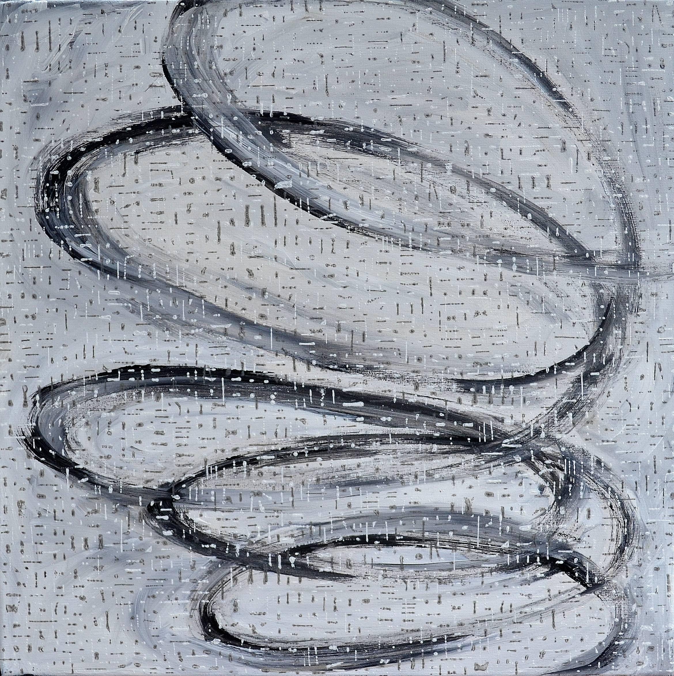 Kunst: Z 2020 31 van kunstenaar Martin Copier