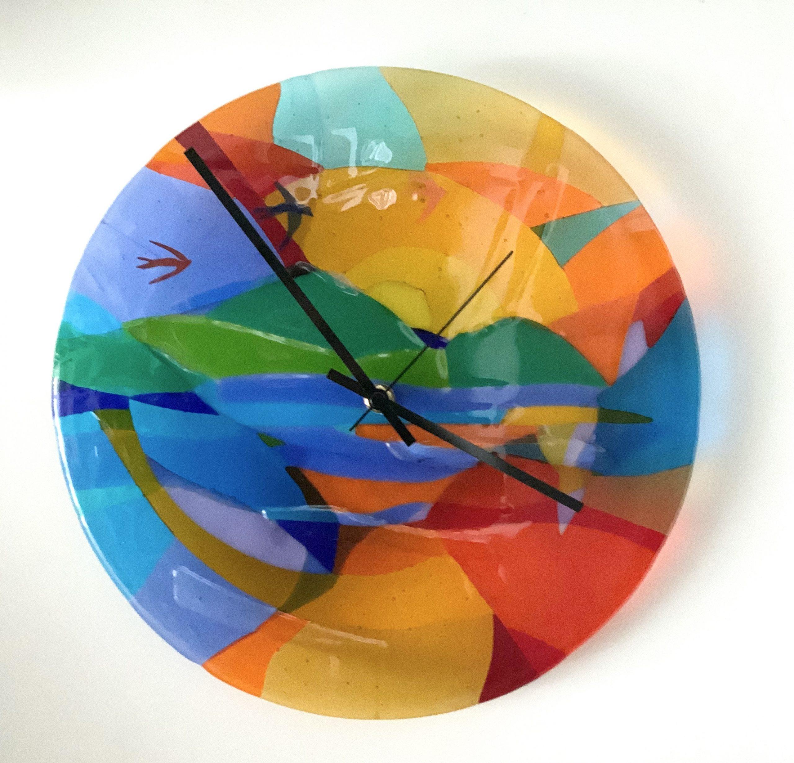 Kunst: Zwaluwklok van kunstenaar Angenelle Thijssen