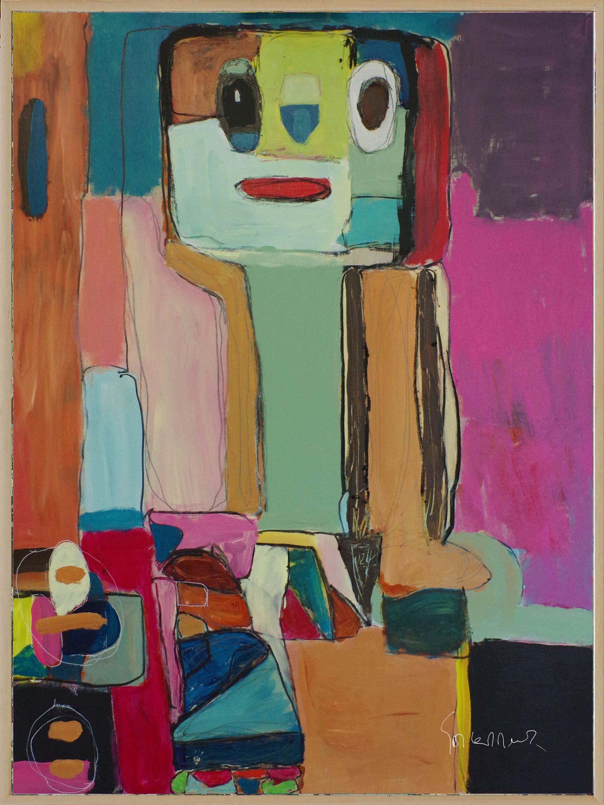 Kunst: Adapted Culture opus 101 van kunstenaar Geert Lemmers